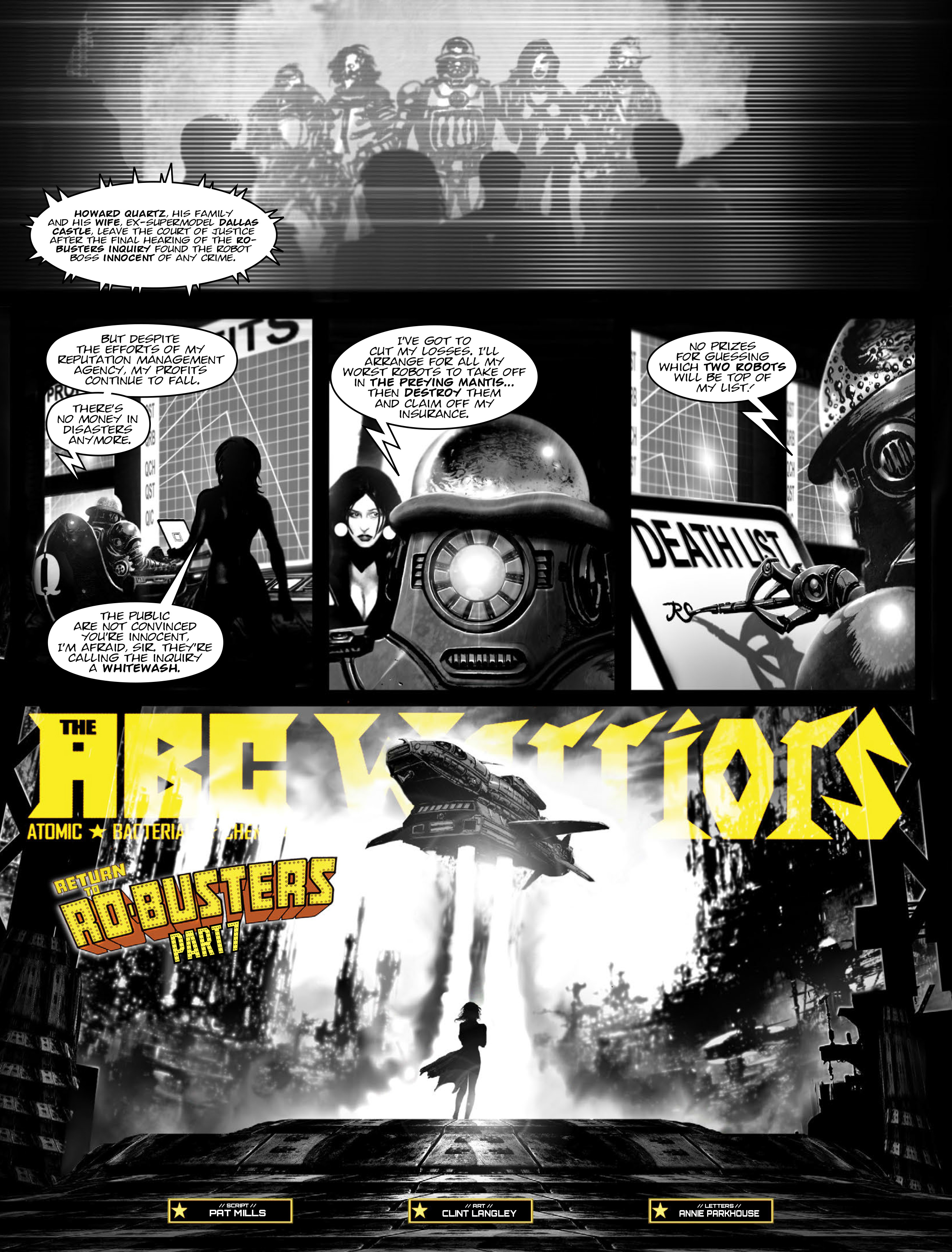 Read online 2000 AD comic -  Issue #1967 - 14