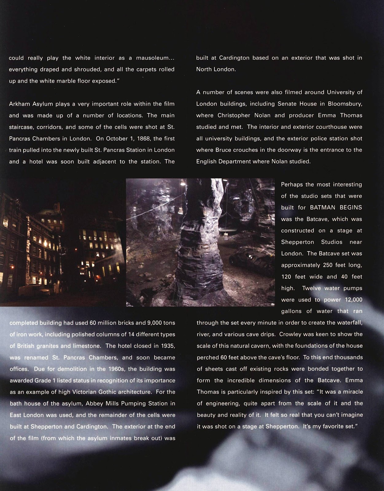 Read online Batman Begins: The Official Movie Guide comic -  Issue # TPB (Part 2) - 49