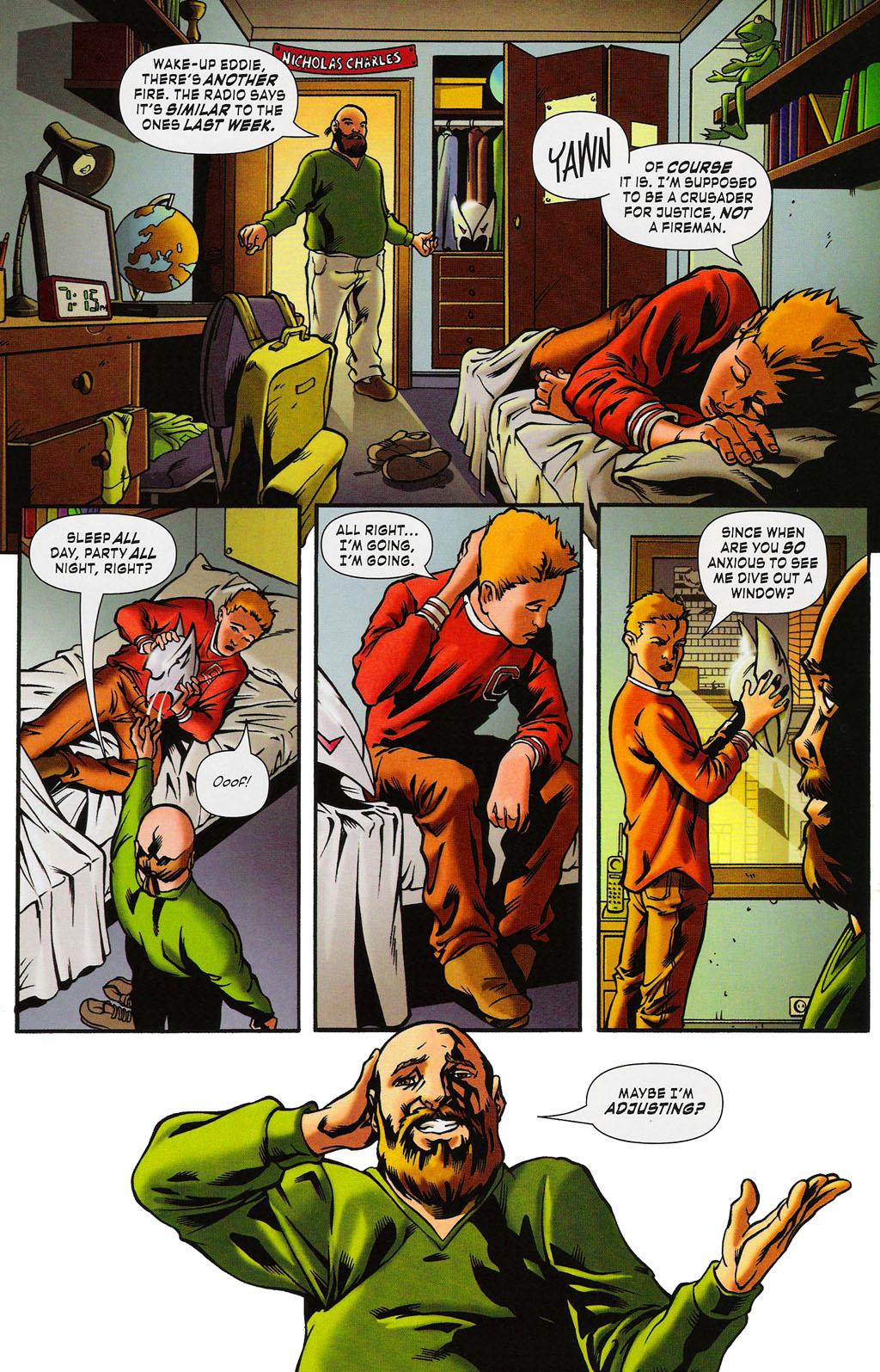 Read online ShadowHawk (2005) comic -  Issue #3 - 8