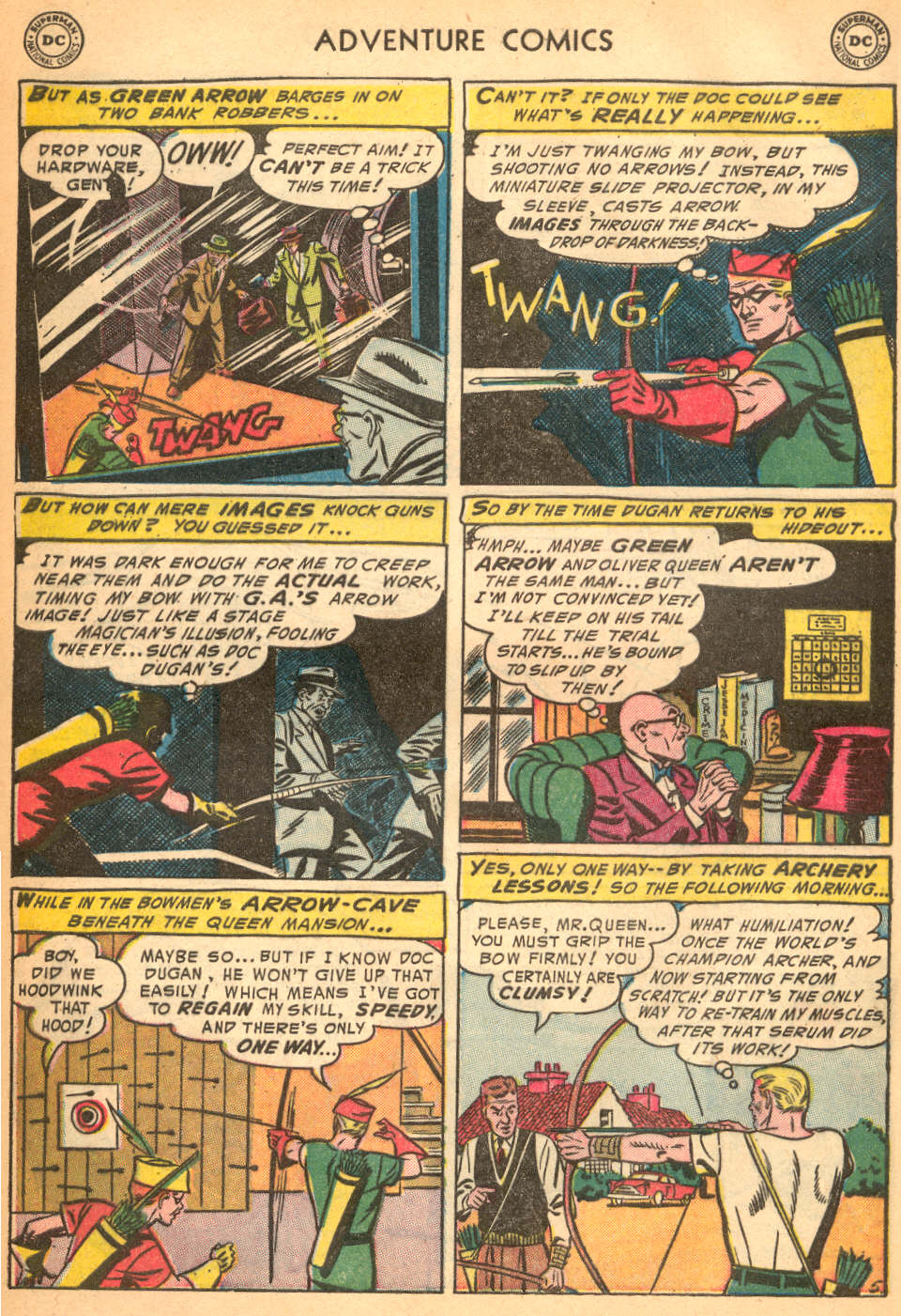 Read online Adventure Comics (1938) comic -  Issue #200 - 38