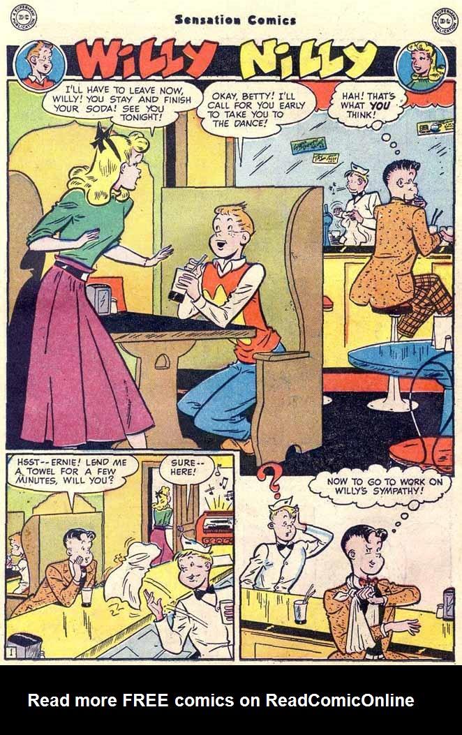 Read online Sensation (Mystery) Comics comic -  Issue #89 - 27