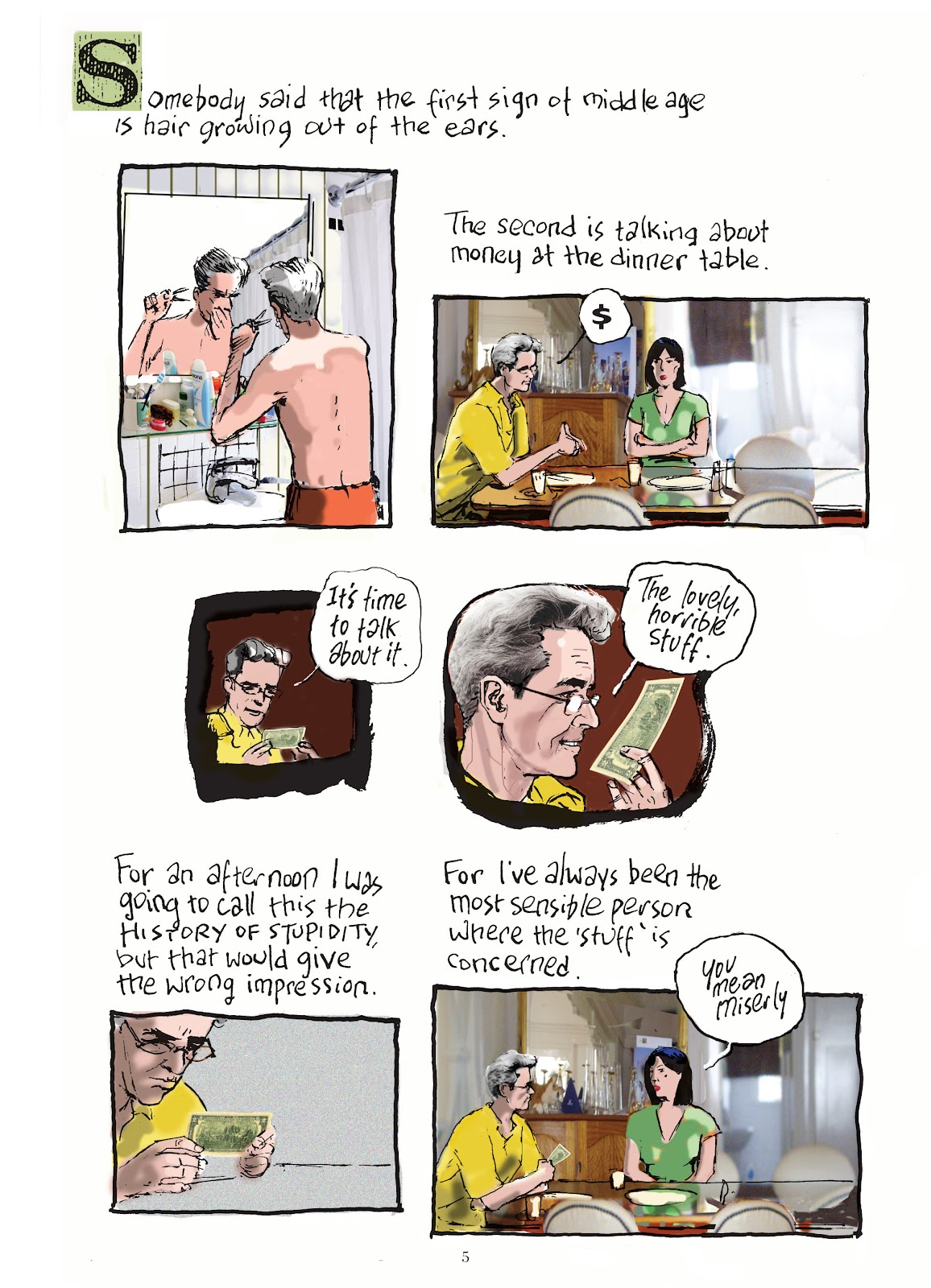 Read online The Lovely Horrible Stuff comic -  Issue # TPB - 7