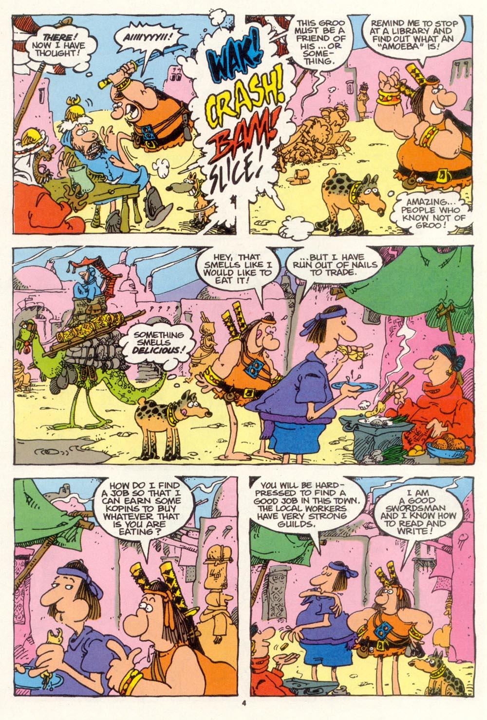 Read online Sergio Aragonés Groo the Wanderer comic -  Issue #102 - 6