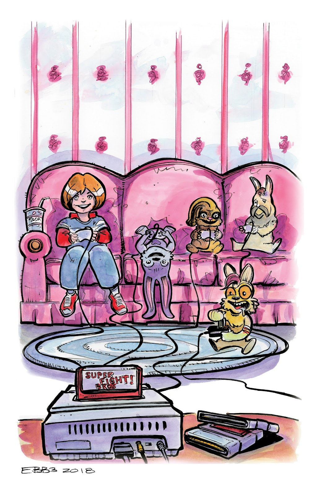 Read online Auntie Agatha's Home For Wayward Rabbits comic -  Issue #5 - 23