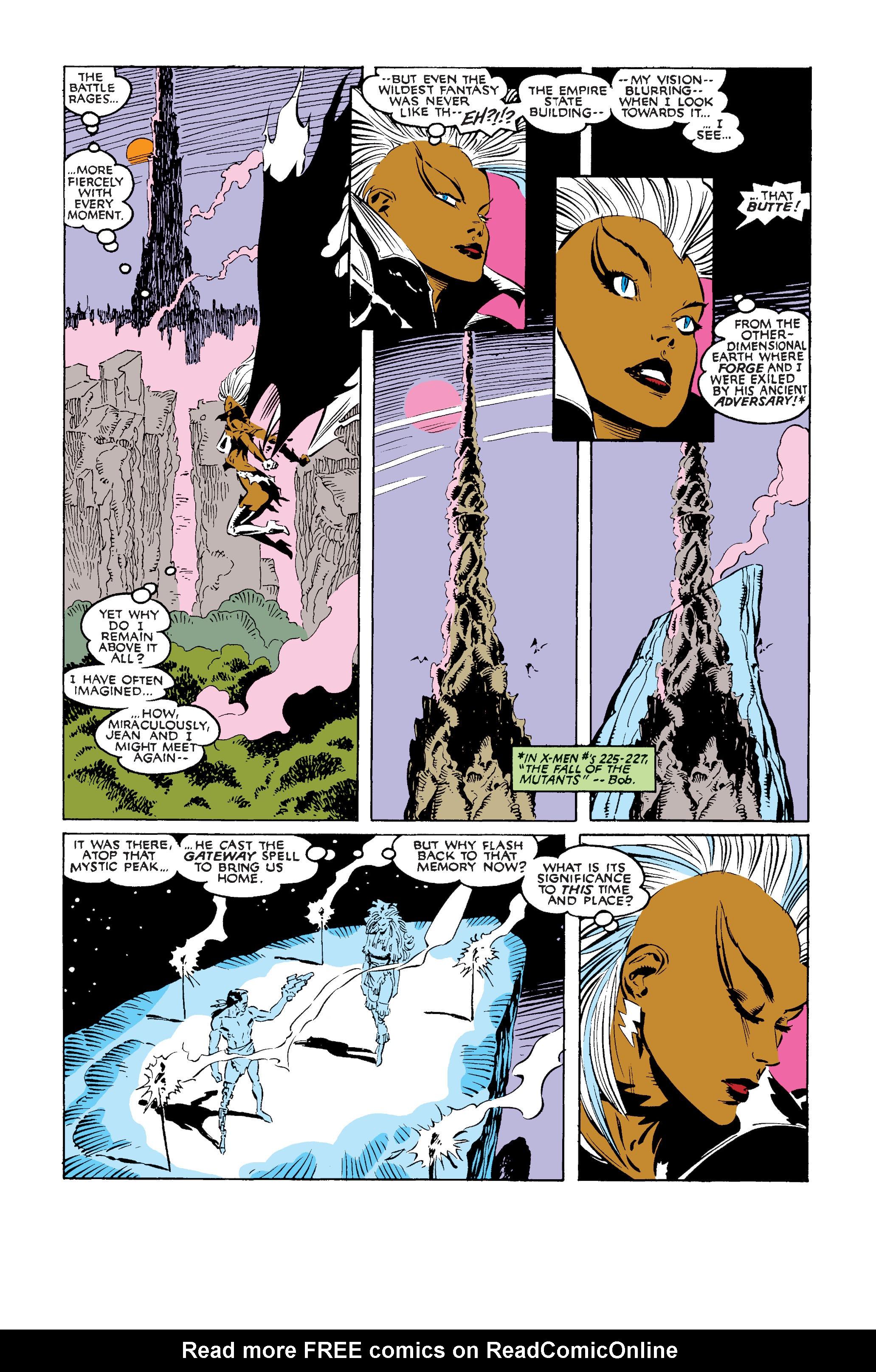 Read online Uncanny X-Men (1963) comic -  Issue #242 - 19