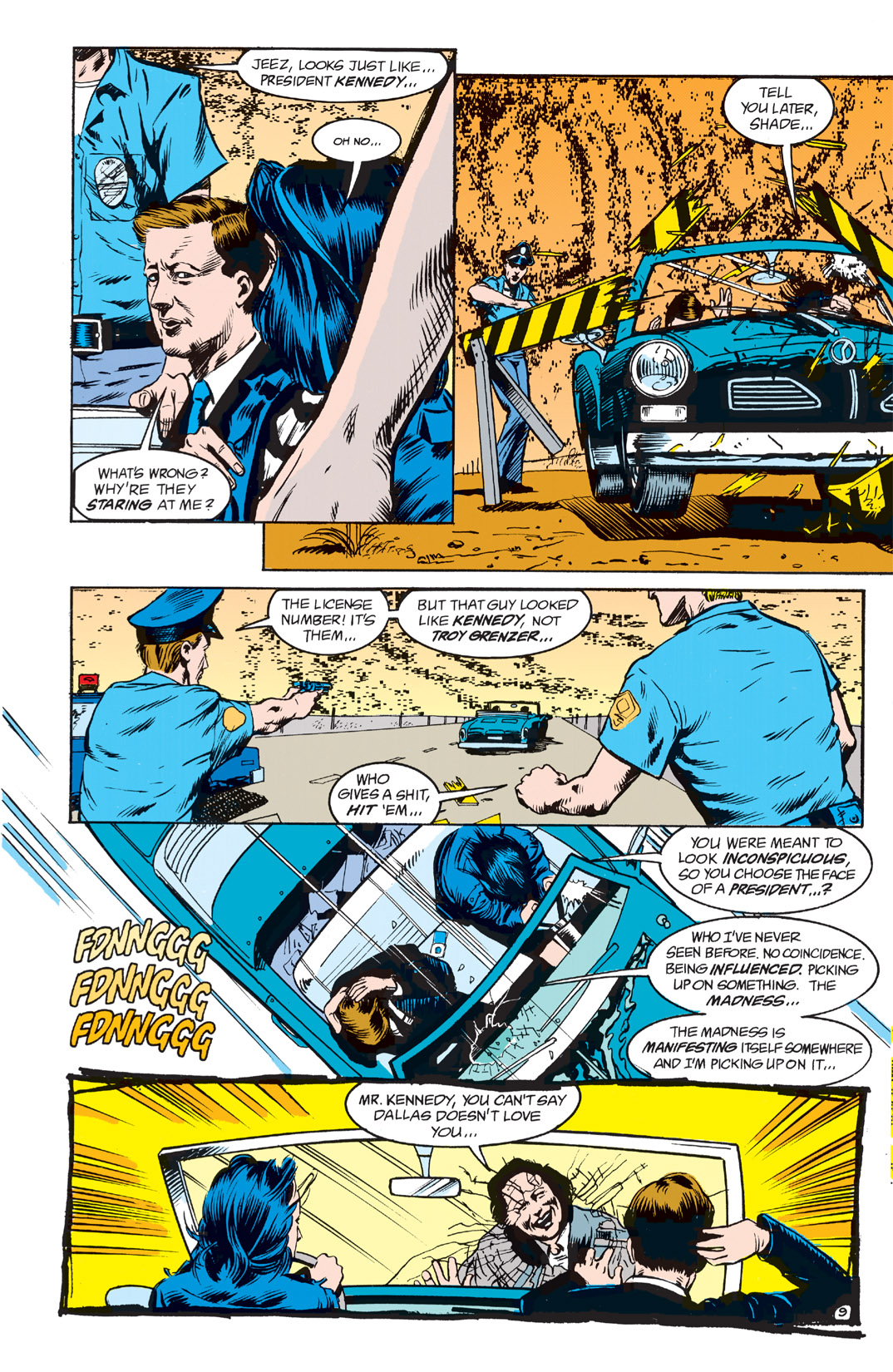 Read online Shade, the Changing Man comic -  Issue #2 - 11