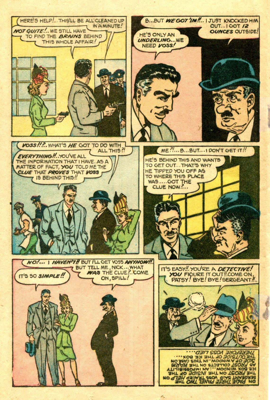 Read online Shadow Comics comic -  Issue #75 - 29