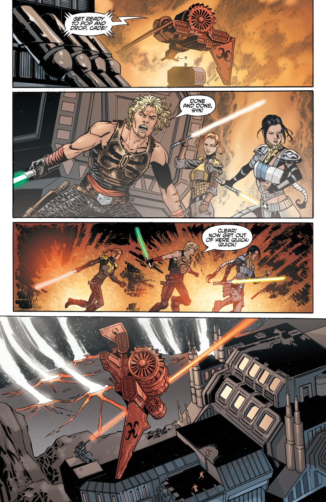Read online Star Wars Legends: Legacy - Epic Collection comic -  Issue # TPB 2 (Part 3) - 25