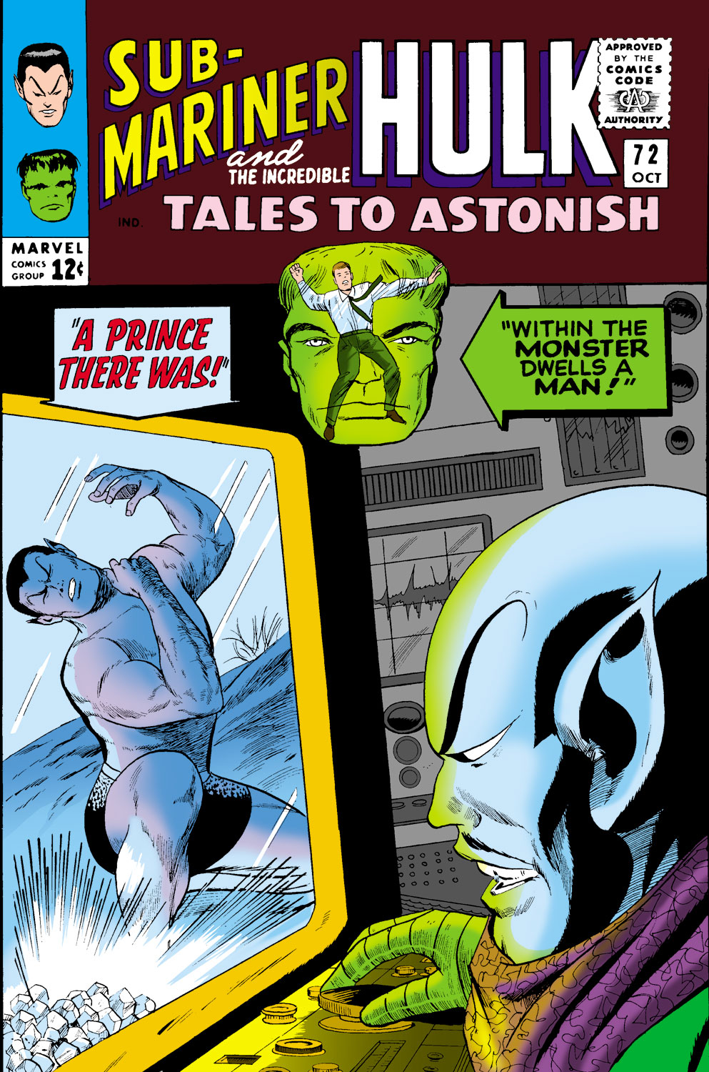 Tales to Astonish (1959) issue 72 - Page 1