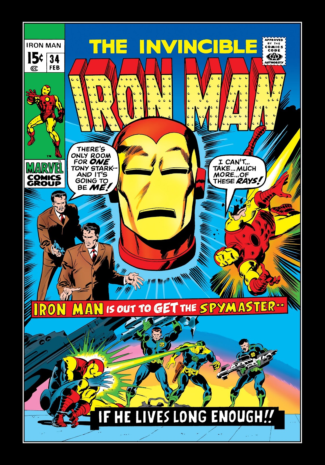 Read online Marvel Masterworks: The Invincible Iron Man comic -  Issue # TPB 7 (Part 2) - 69