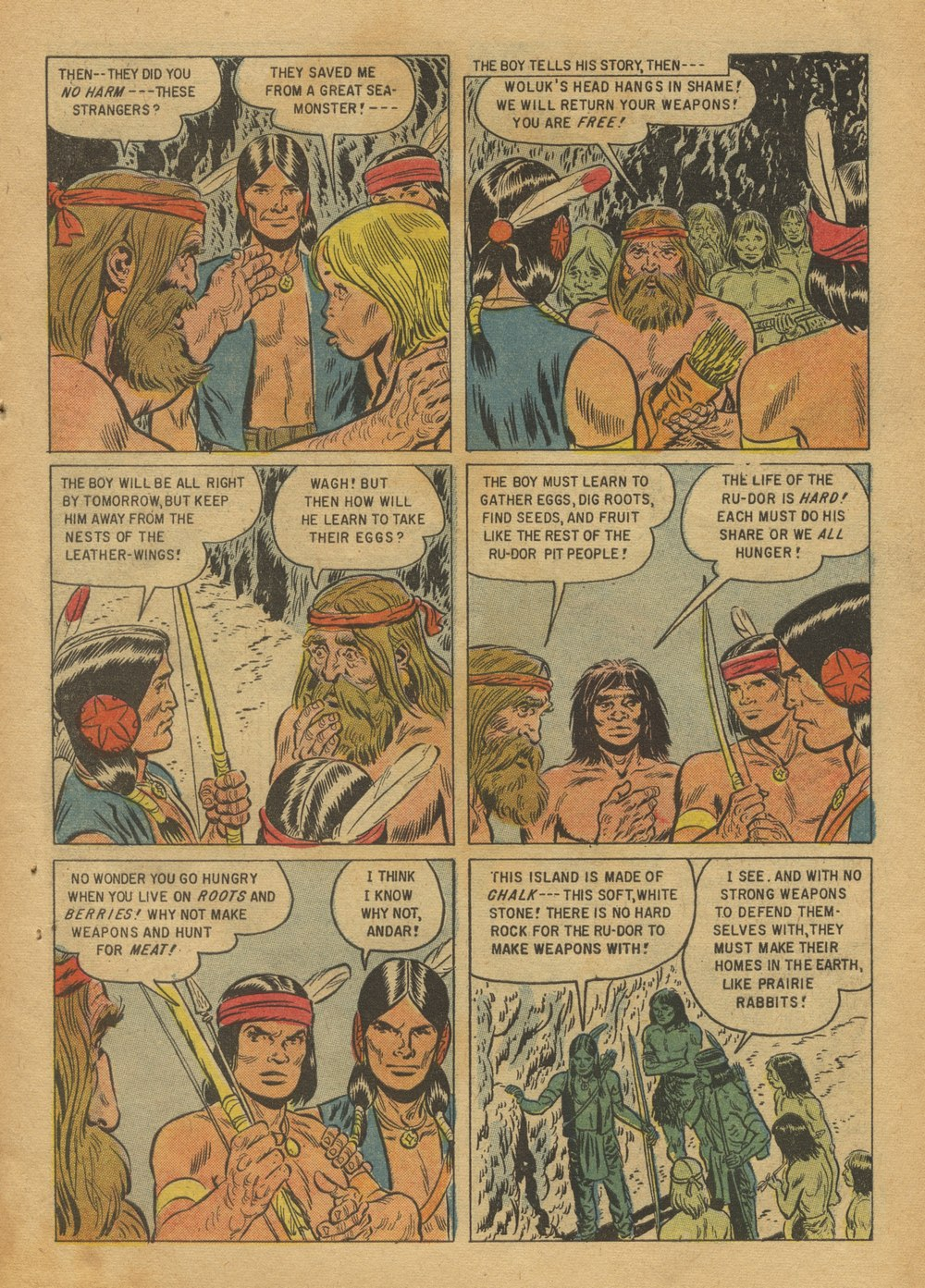 Read online Turok, Son of Stone comic -  Issue #12 - 27