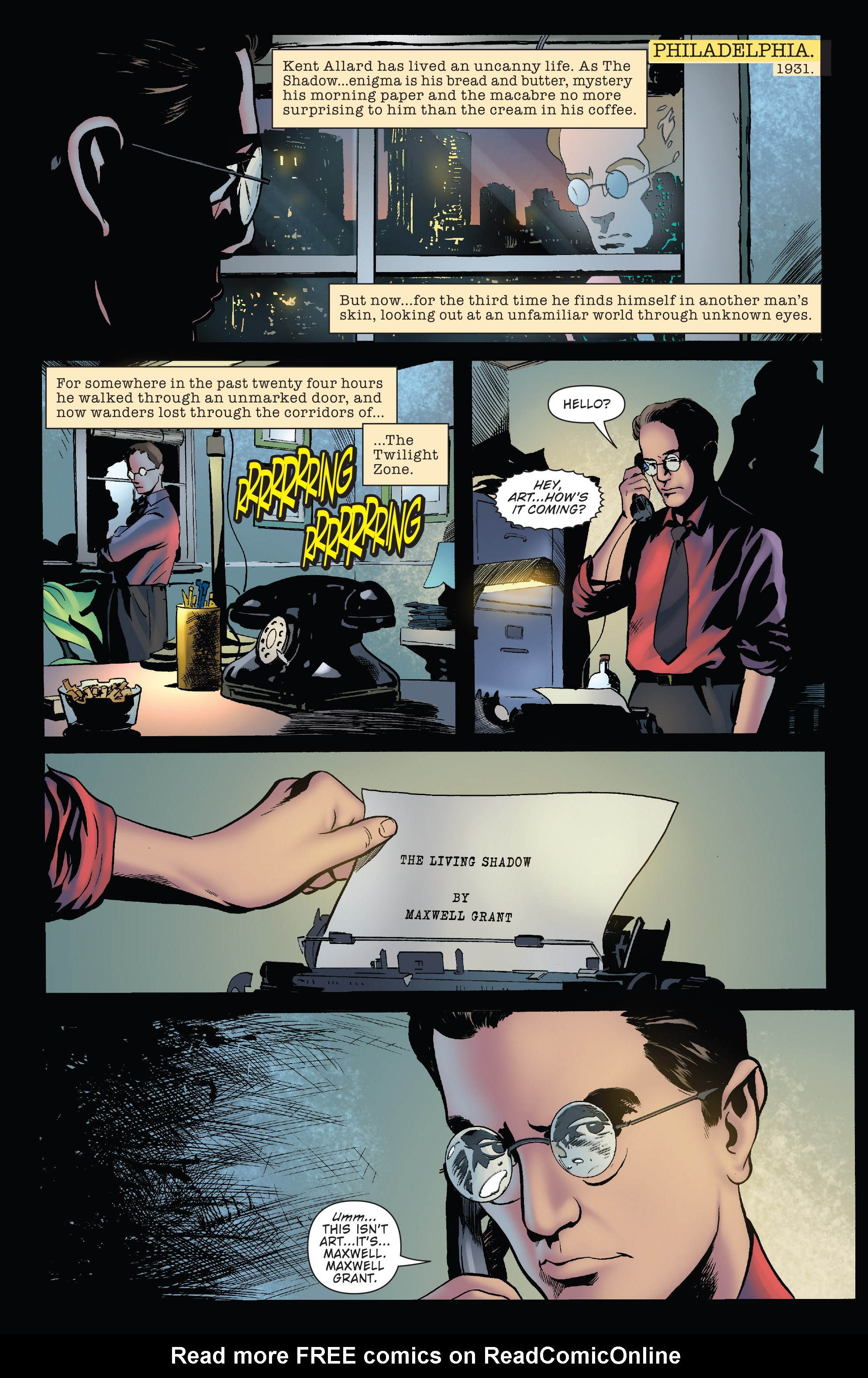 Read online Twilight Zone The Shadow comic -  Issue #3 - 3