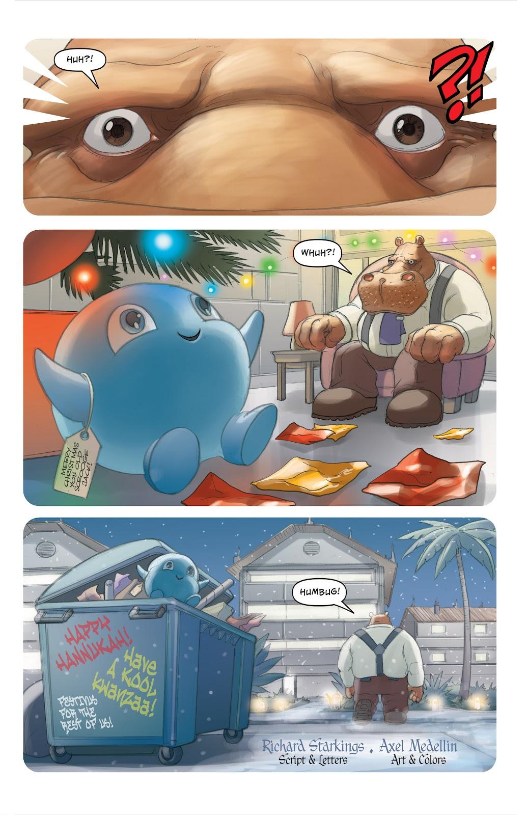 Read online Elephantmen 2261 Season Two: The Pentalion Job comic -  Issue # TPB - 125