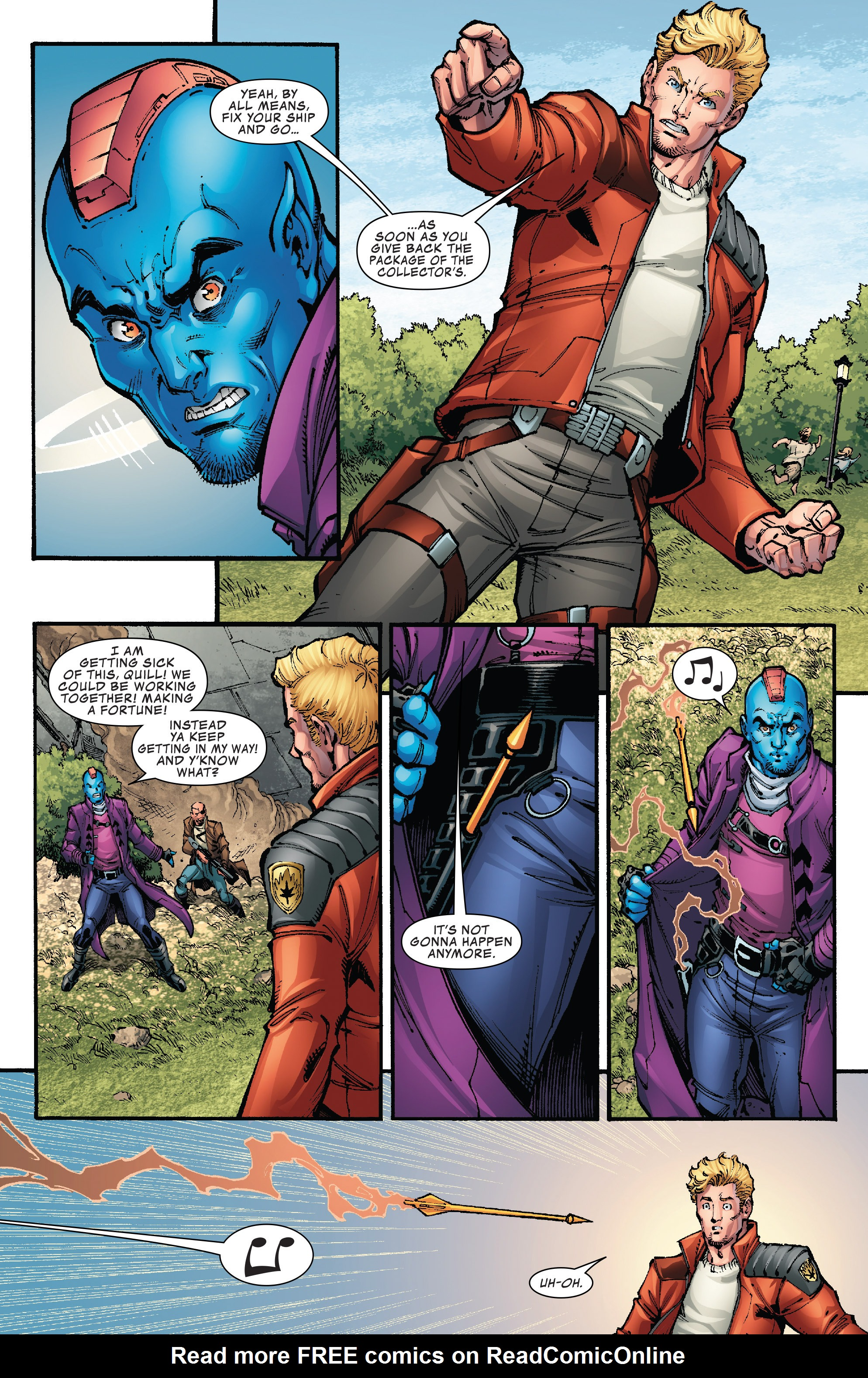 Read online Hi-Tech Heroes Presented By Hanes comic -  Issue # Full - 7