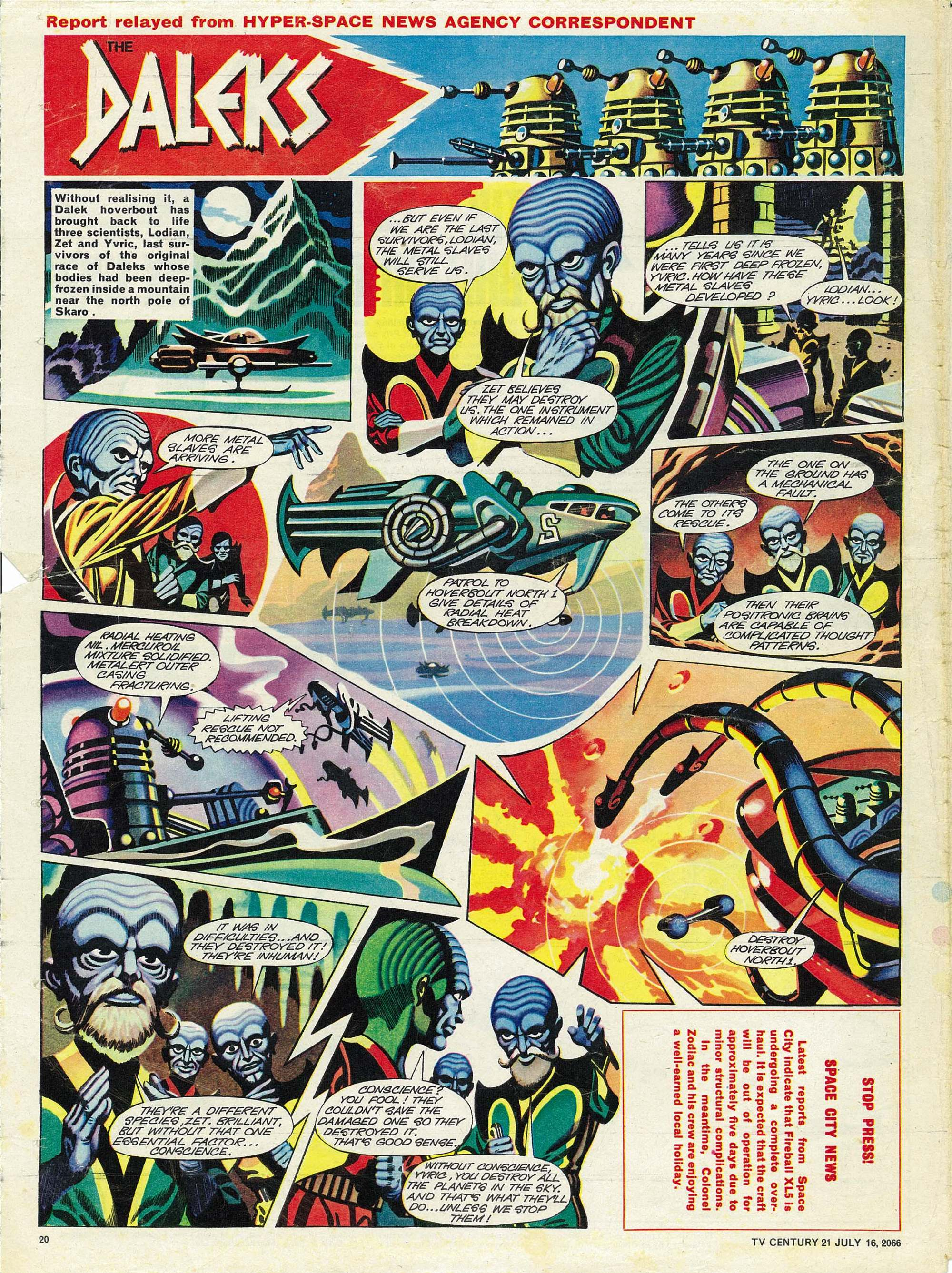 Read online TV Century 21 (TV 21) comic -  Issue #78 - 19
