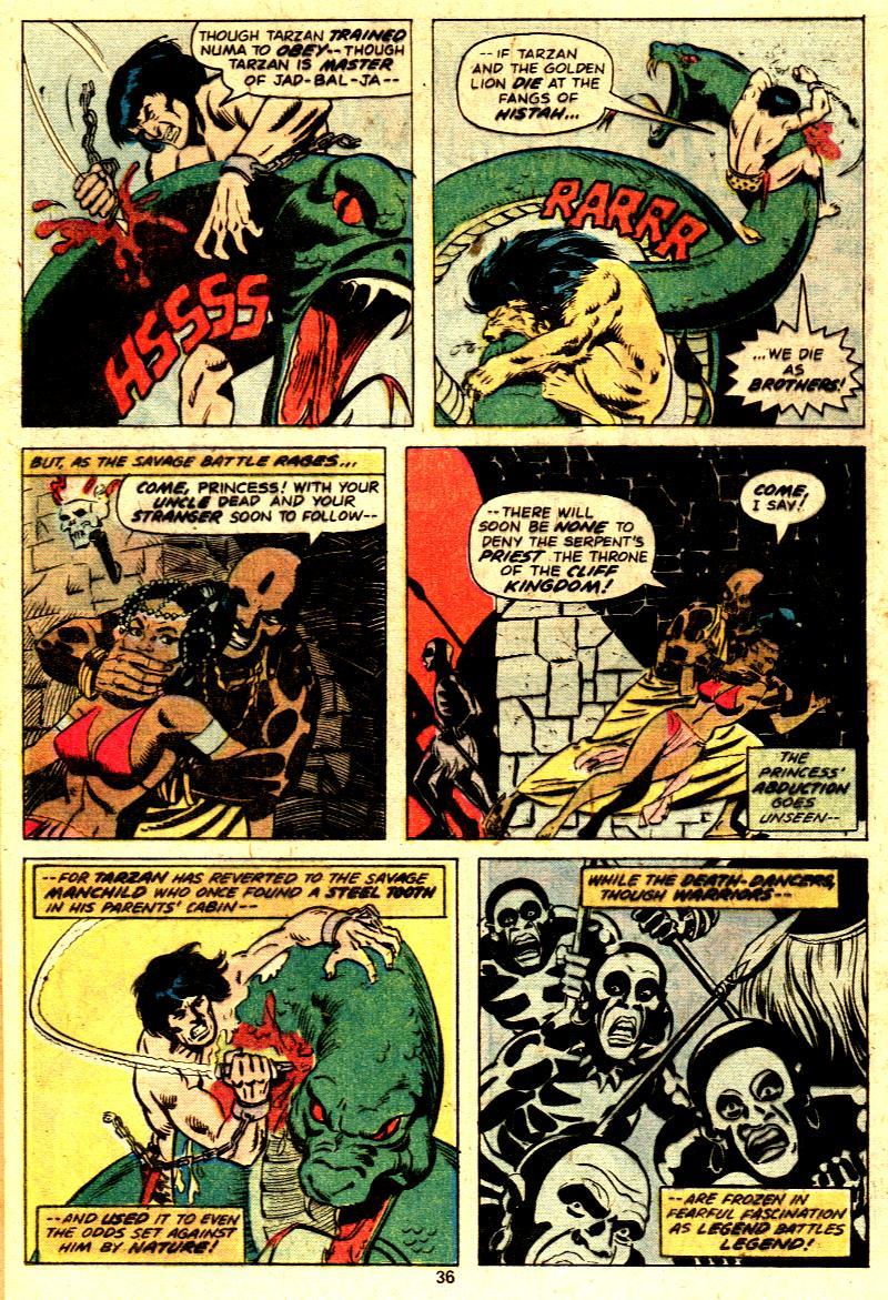 Read online Tarzan (1977) comic -  Issue # _Annual 2 - 28
