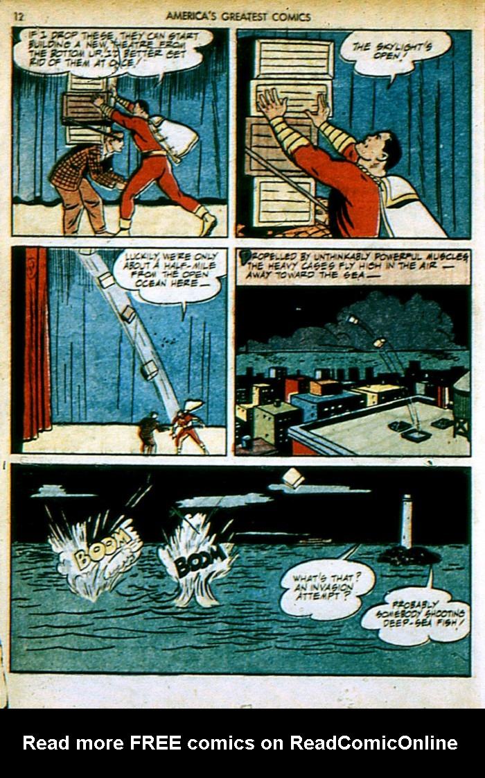 Read online America's Greatest Comics comic -  Issue #4 - 12