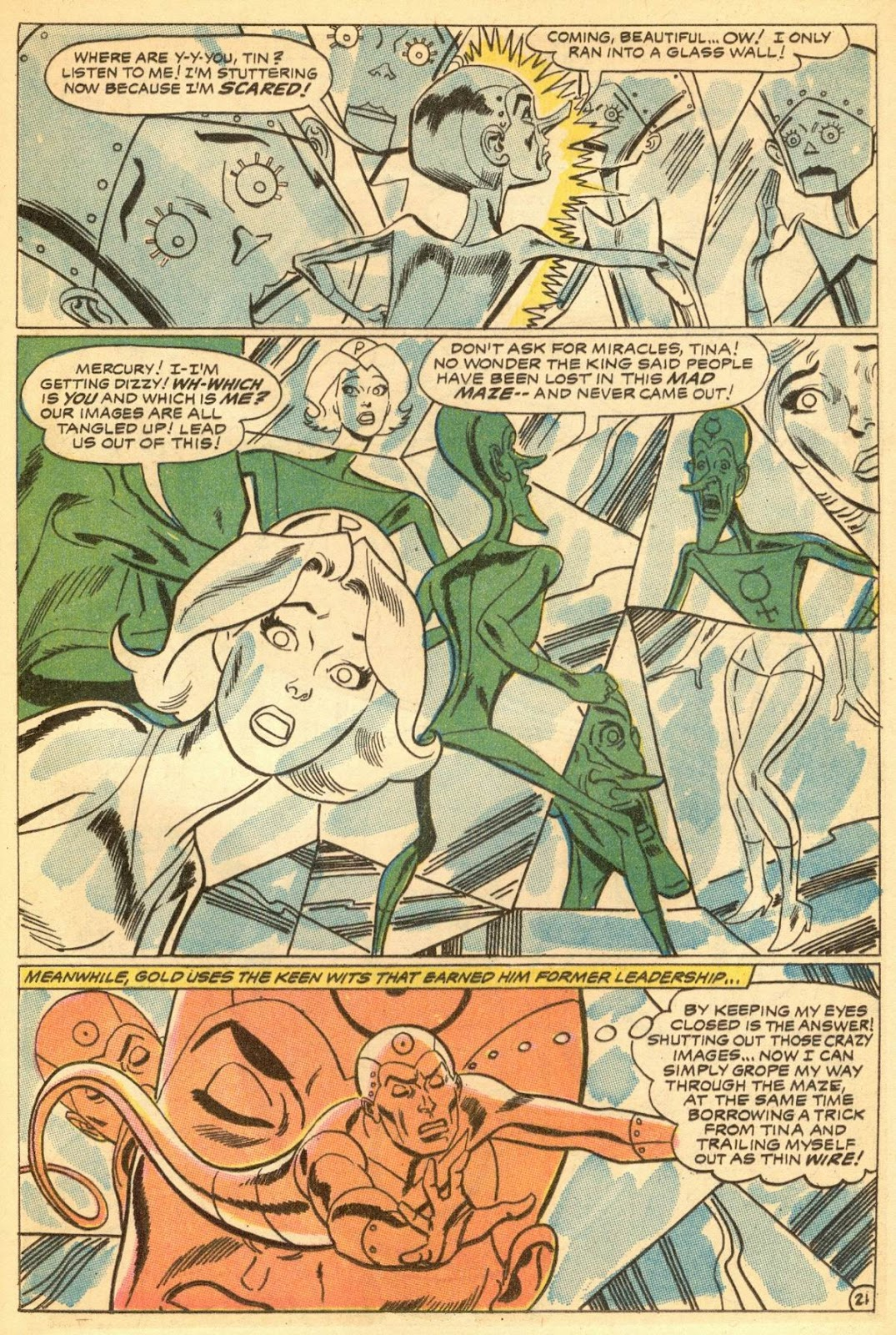 Metal Men (1963) issue 30 - Page 25