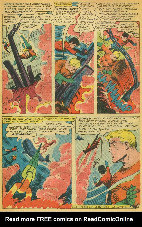 Read online Aquaman (1962) comic -  Issue #28 - 6