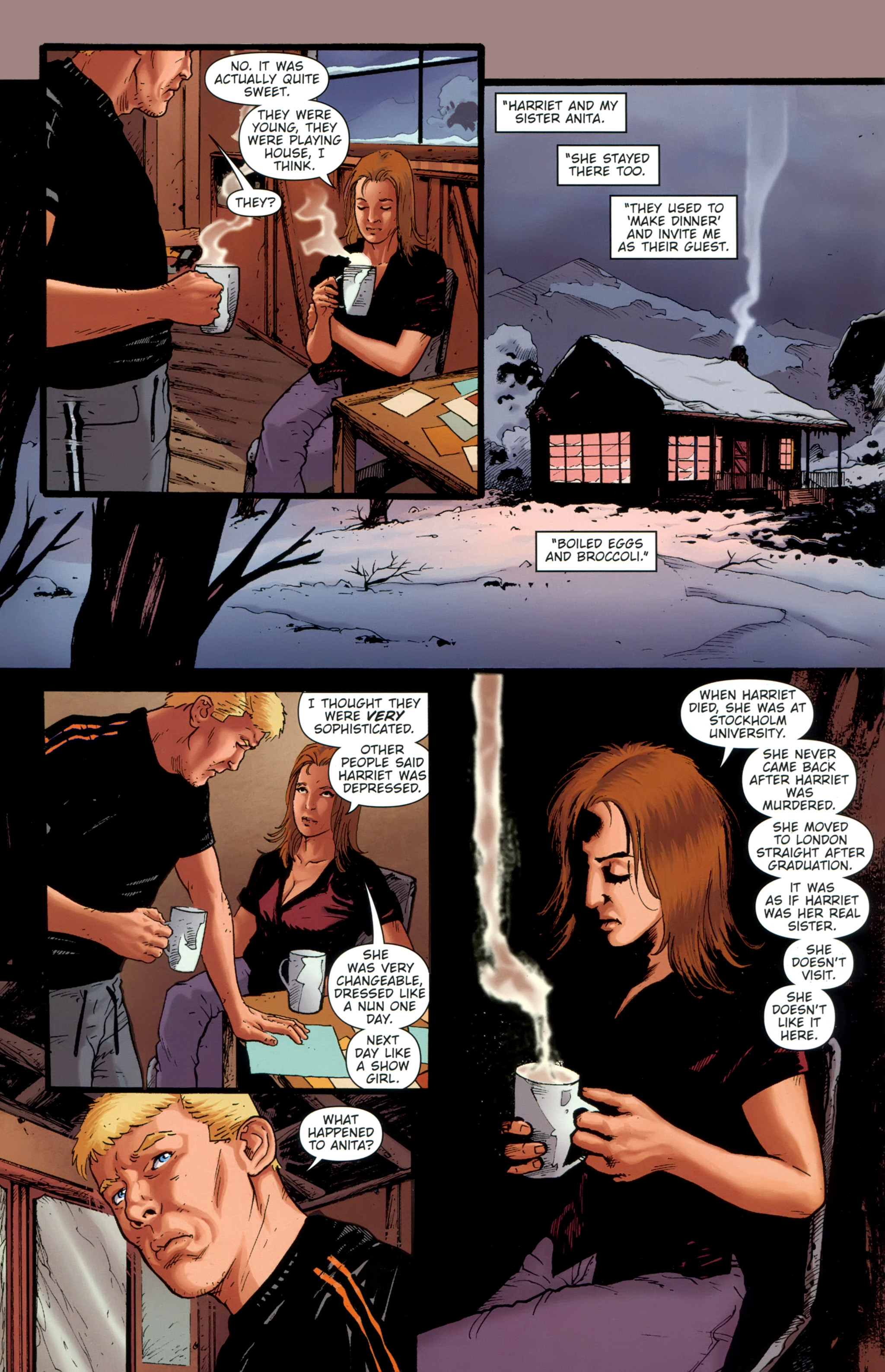 Read online The Girl With the Dragon Tattoo comic -  Issue # TPB 1 - 133