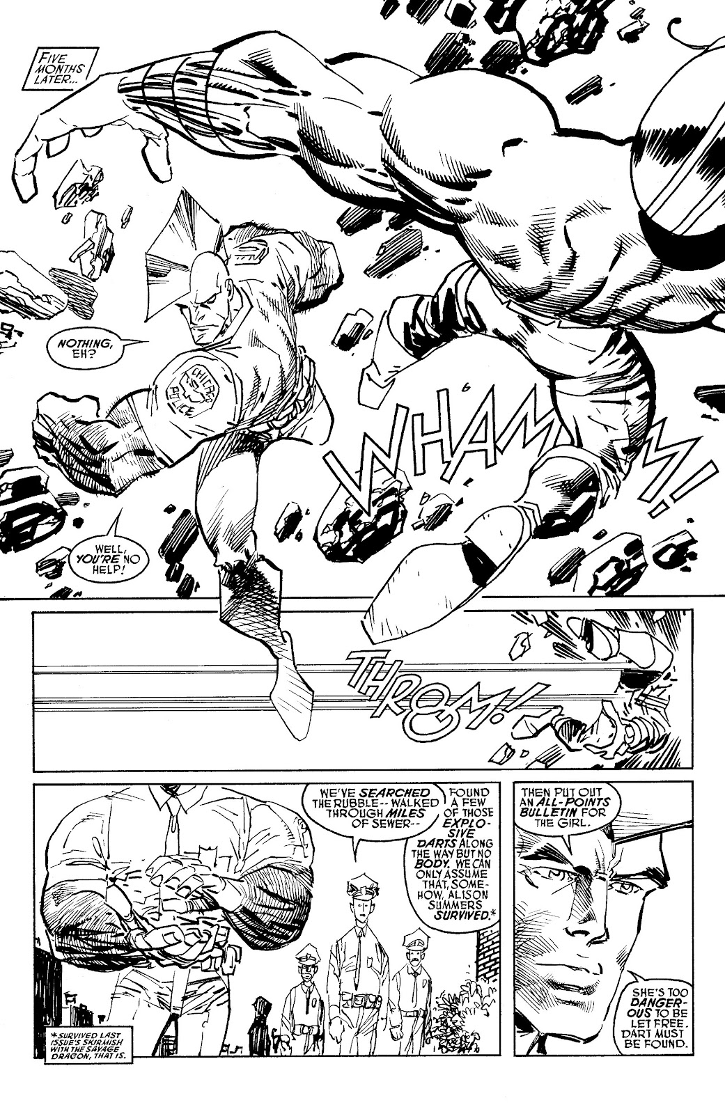 Read online Savage Dragon Archives comic -  Issue # TPB 6 (Part 5) - 88