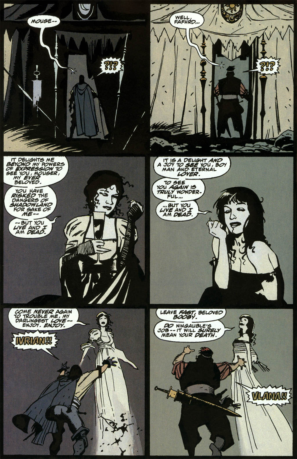 Read online Fafhrd and the Gray Mouser comic -  Issue #3 - 16