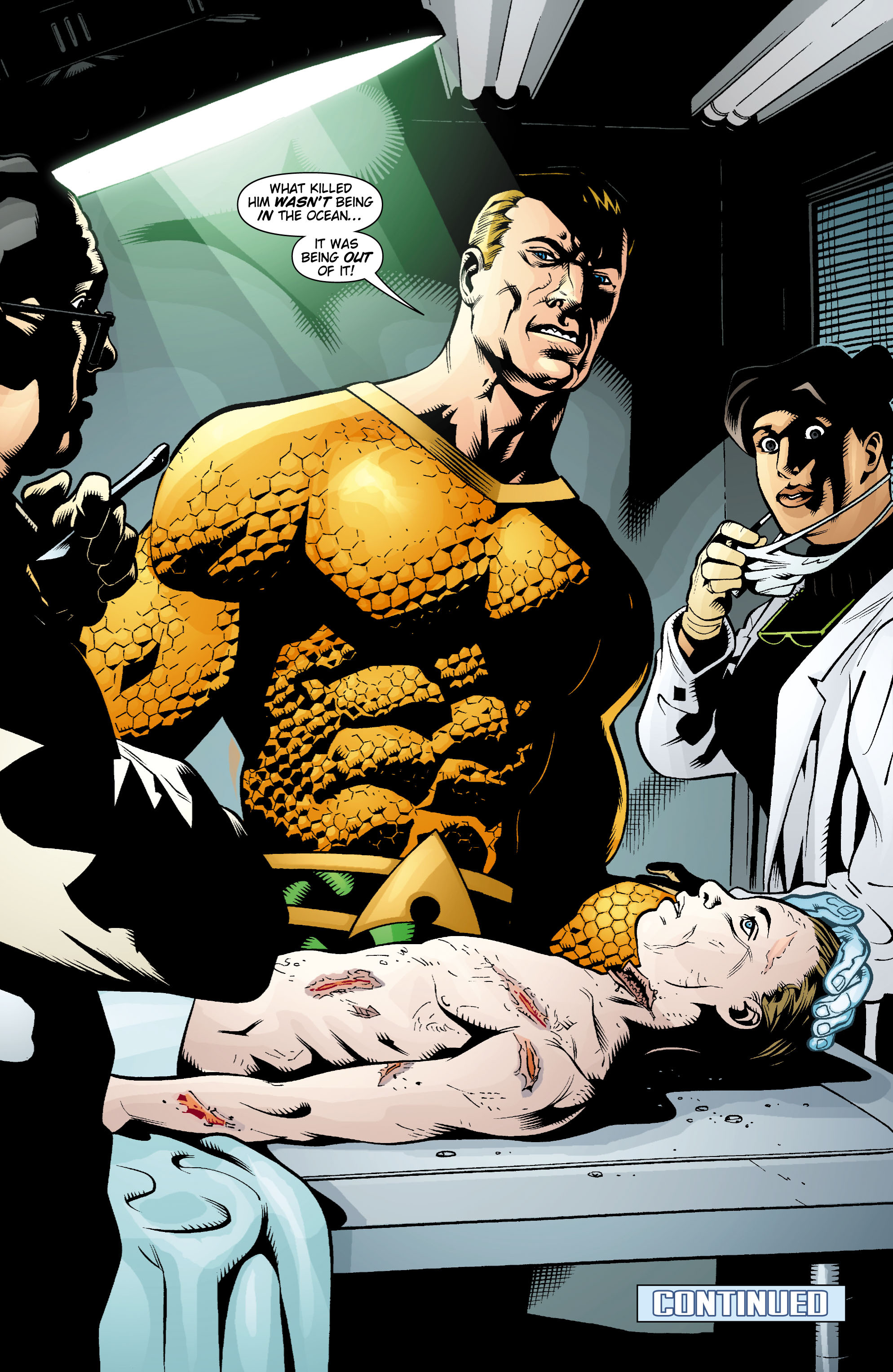 Read online Aquaman (2003) comic -  Issue #15 - 22