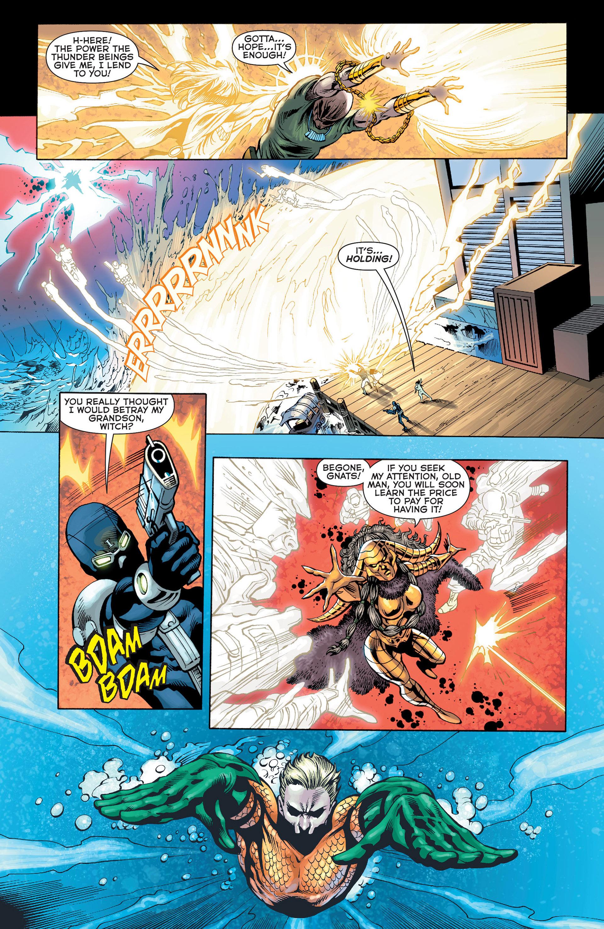 Read online Aquaman (2011) comic -  Issue #Aquaman (2011) _Annual 1 - 31