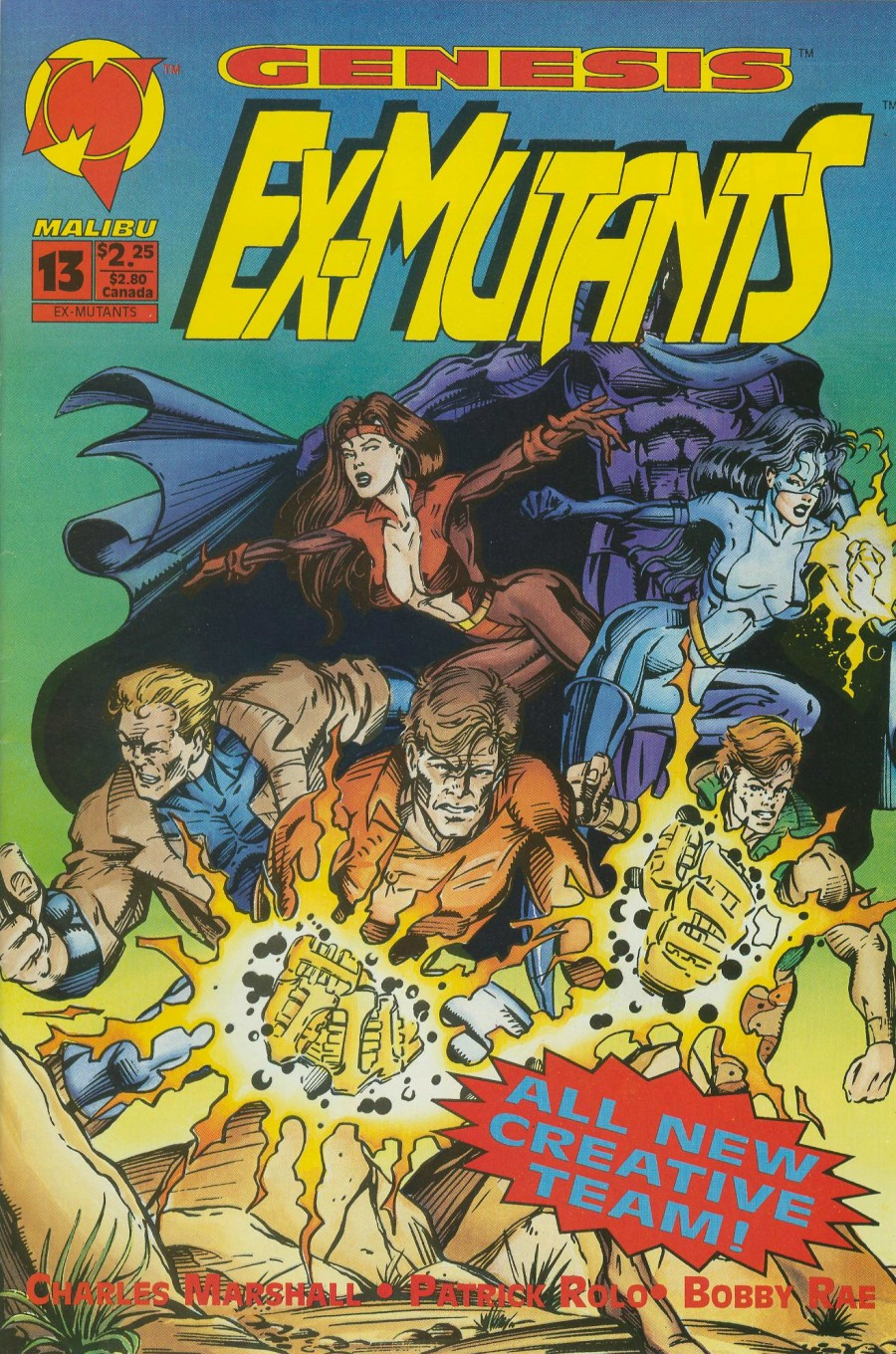 Read online Ex-Mutants comic -  Issue #13 - 1