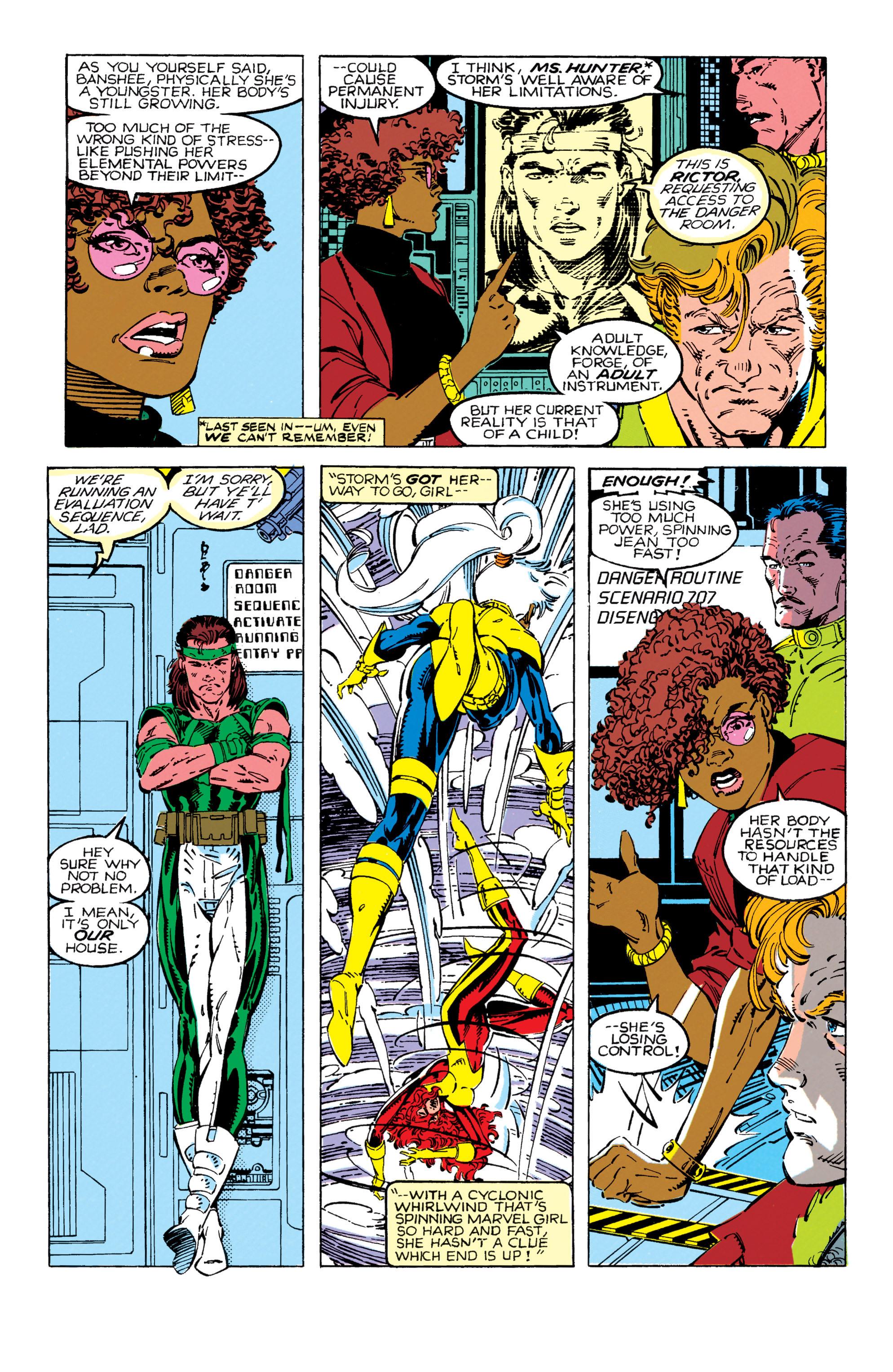 Read online Uncanny X-Men (1963) comic -  Issue #270 - 6