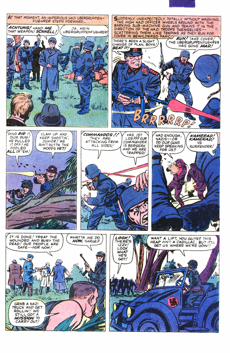 Read online Sgt. Fury comic -  Issue #167 - 24