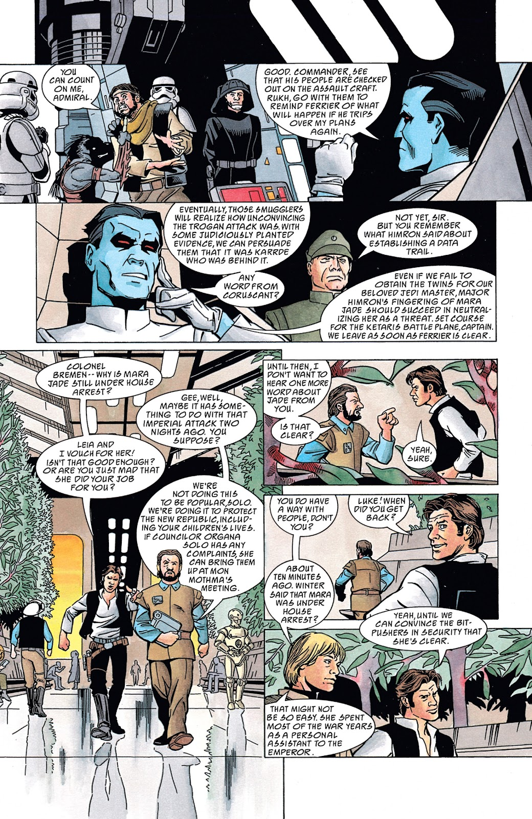 Read online Star Wars Legends: The New Republic - Epic Collection comic -  Issue # TPB 4 (Part 4) - 47