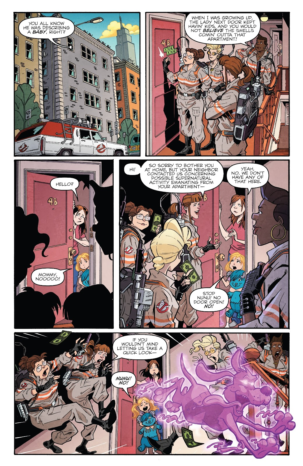 Read online Answer the Call Ghostbusters 35th Anniversary comic -  Issue # Full - 10