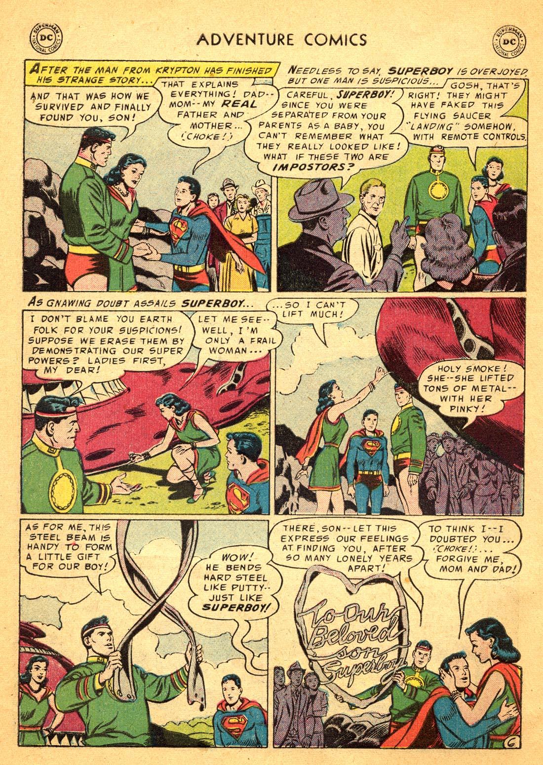 Read online Adventure Comics (1938) comic -  Issue #217 - 8