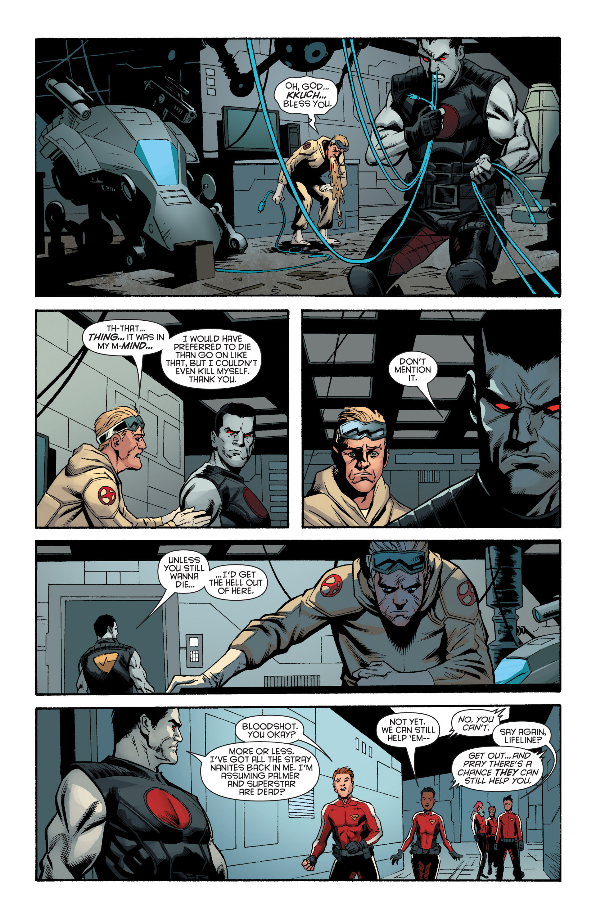 Read online Bloodshot and H.A.R.D.Corps comic -  Issue #17 - 16