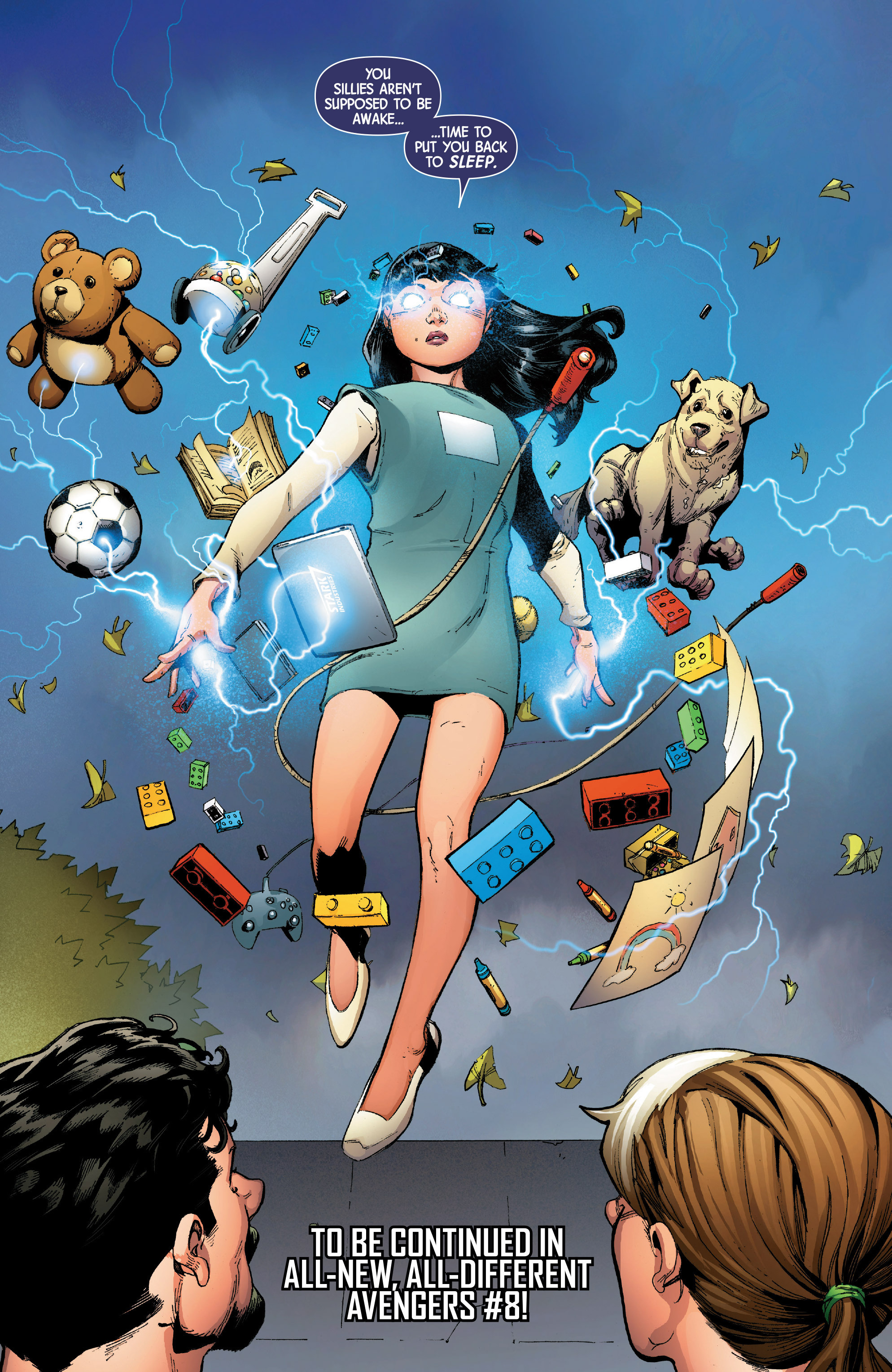 Read online Uncanny Avengers [II] comic -  Issue #8 - 22