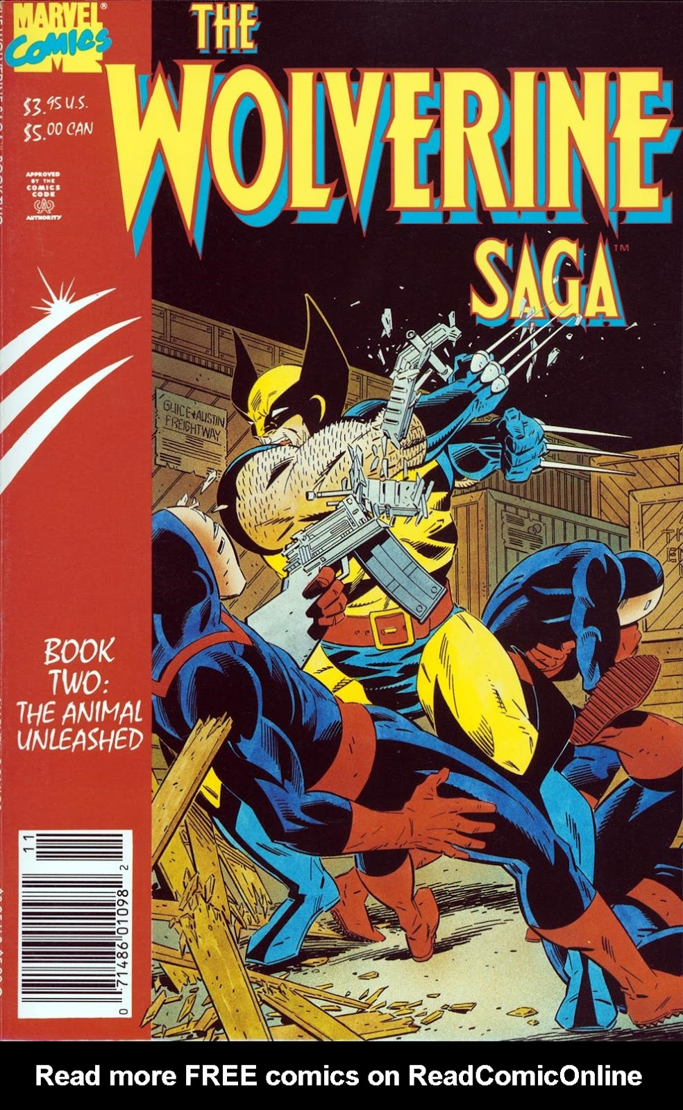 Wolverine Saga (1989) 2 Page 1