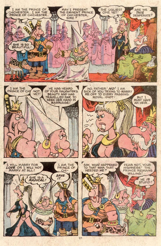 Read online Sergio Aragonés Groo the Wanderer comic -  Issue #42 - 17