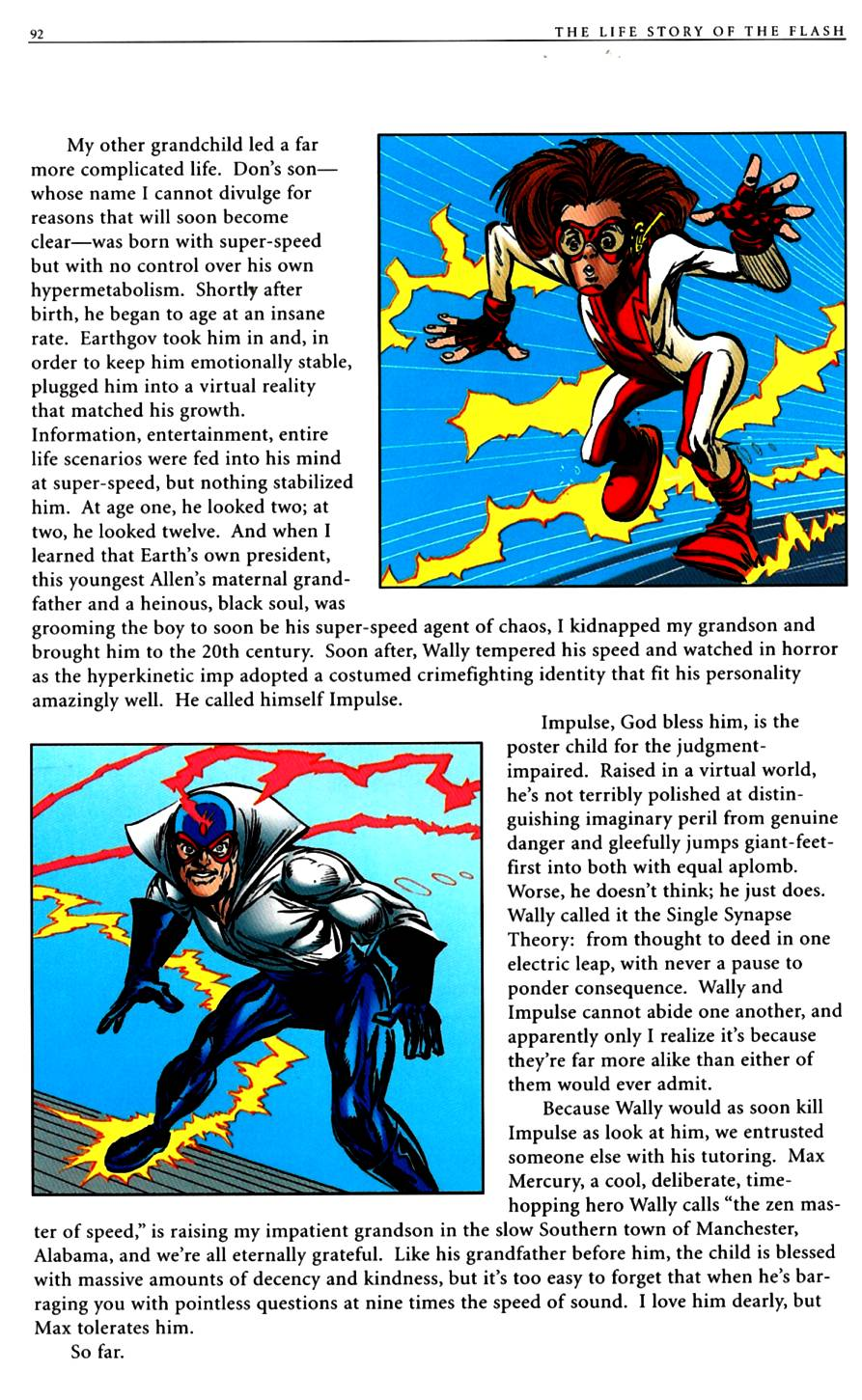 Read online The Life Story of the Flash comic -  Issue # Full - 94