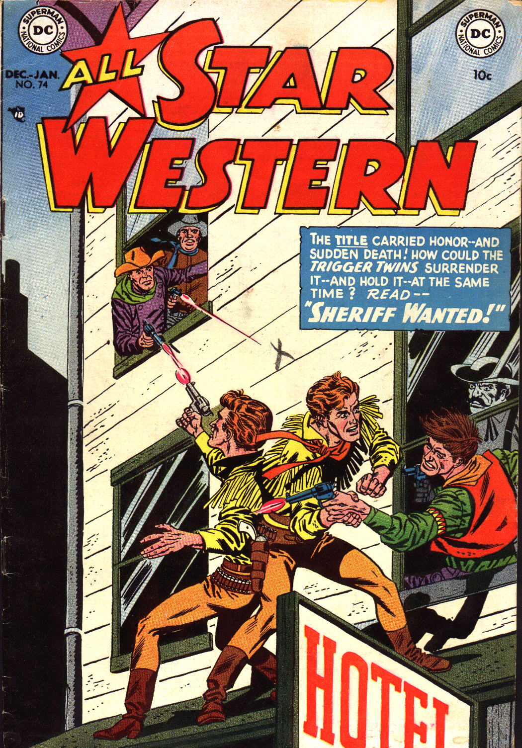 Read online All-Star Western (1951) comic -  Issue #74 - 1