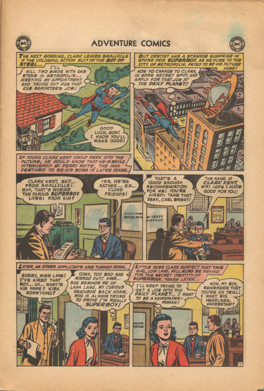 Read online Adventure Comics (1938) comic -  Issue #321 - 25