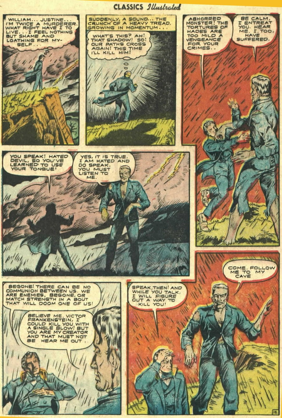 Classics Illustrated issue 26 - Page 20