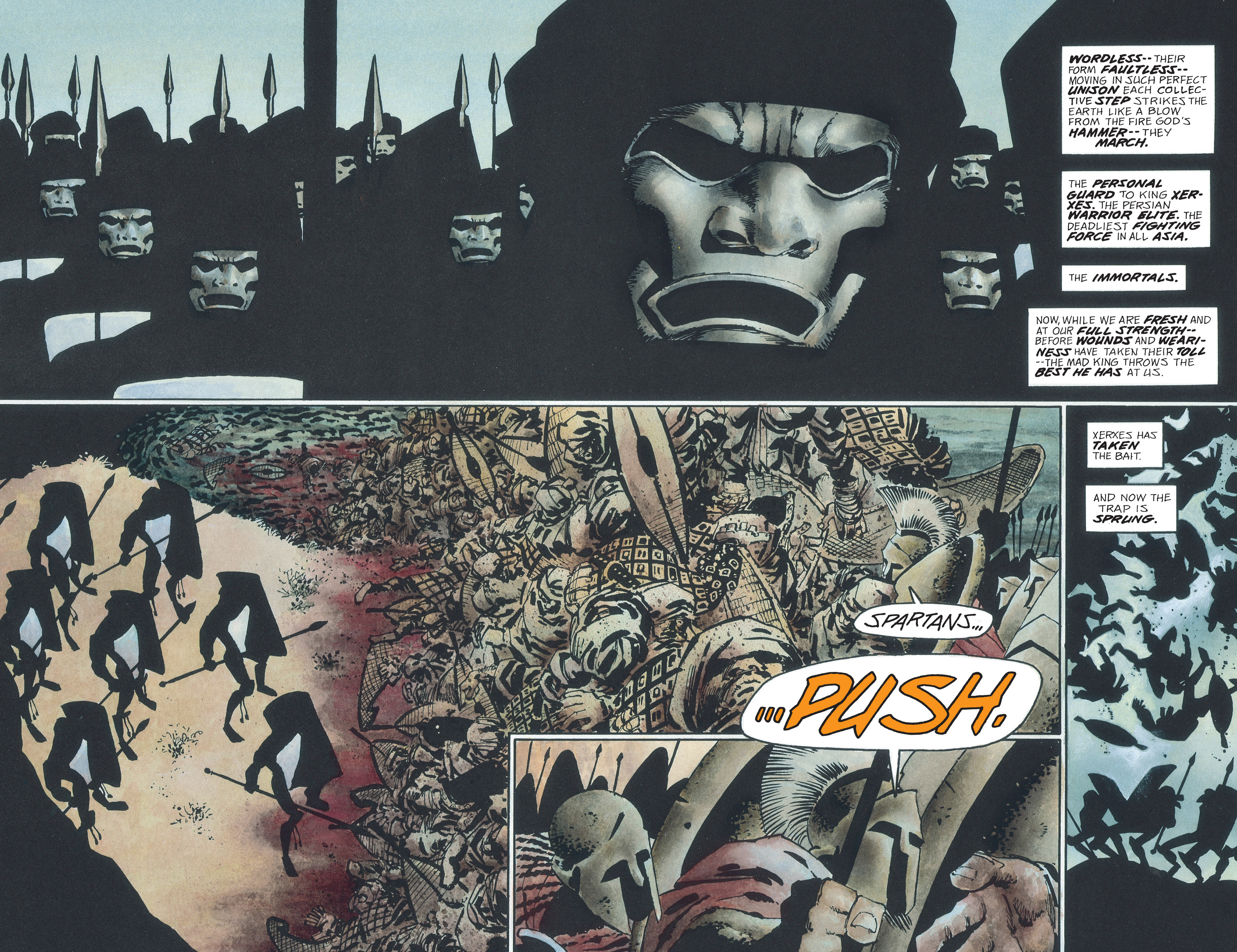 Read online 300 comic -  Issue #300 TPB - 58
