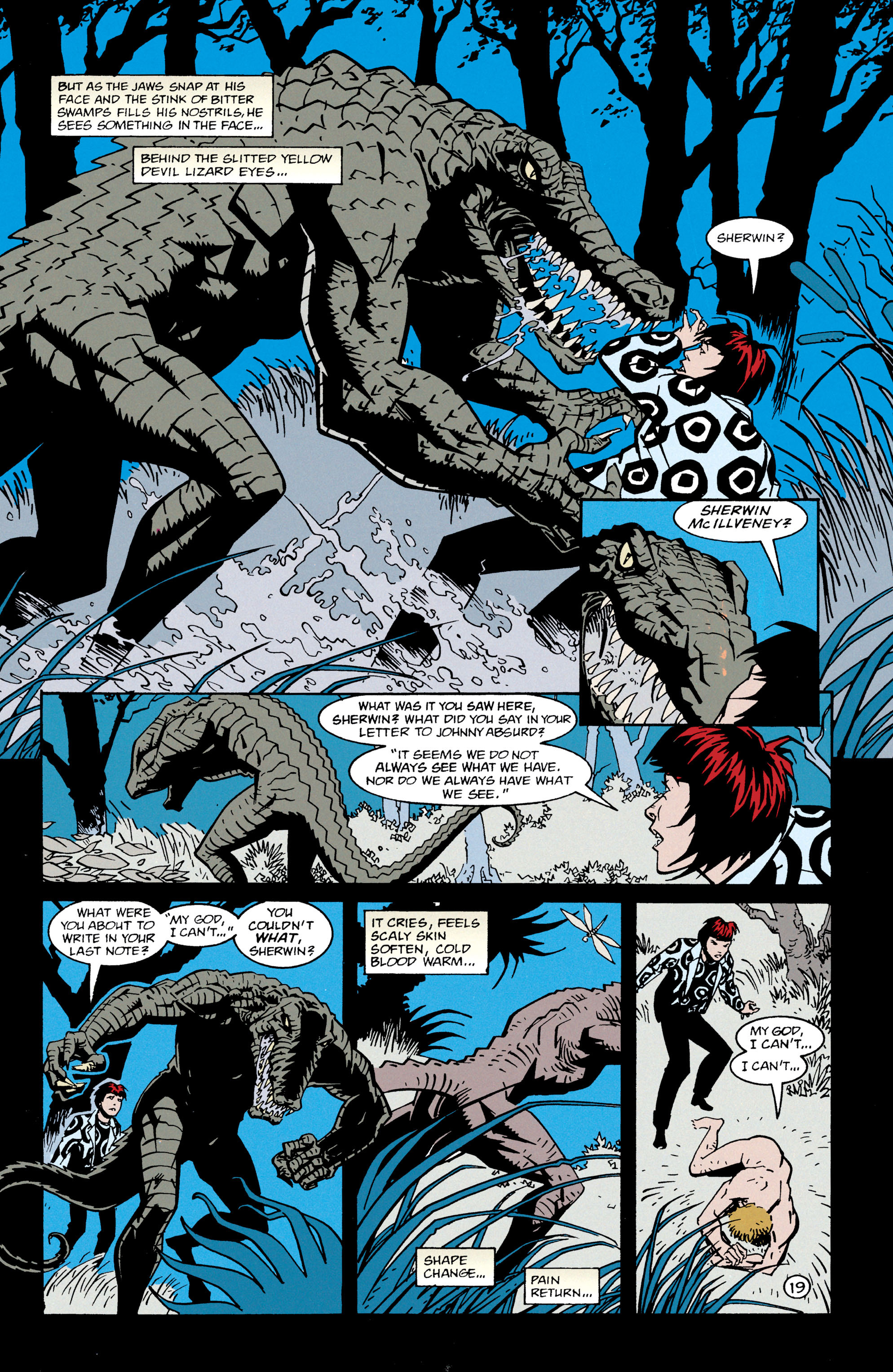 Read online Shade, the Changing Man comic -  Issue #66 - 20