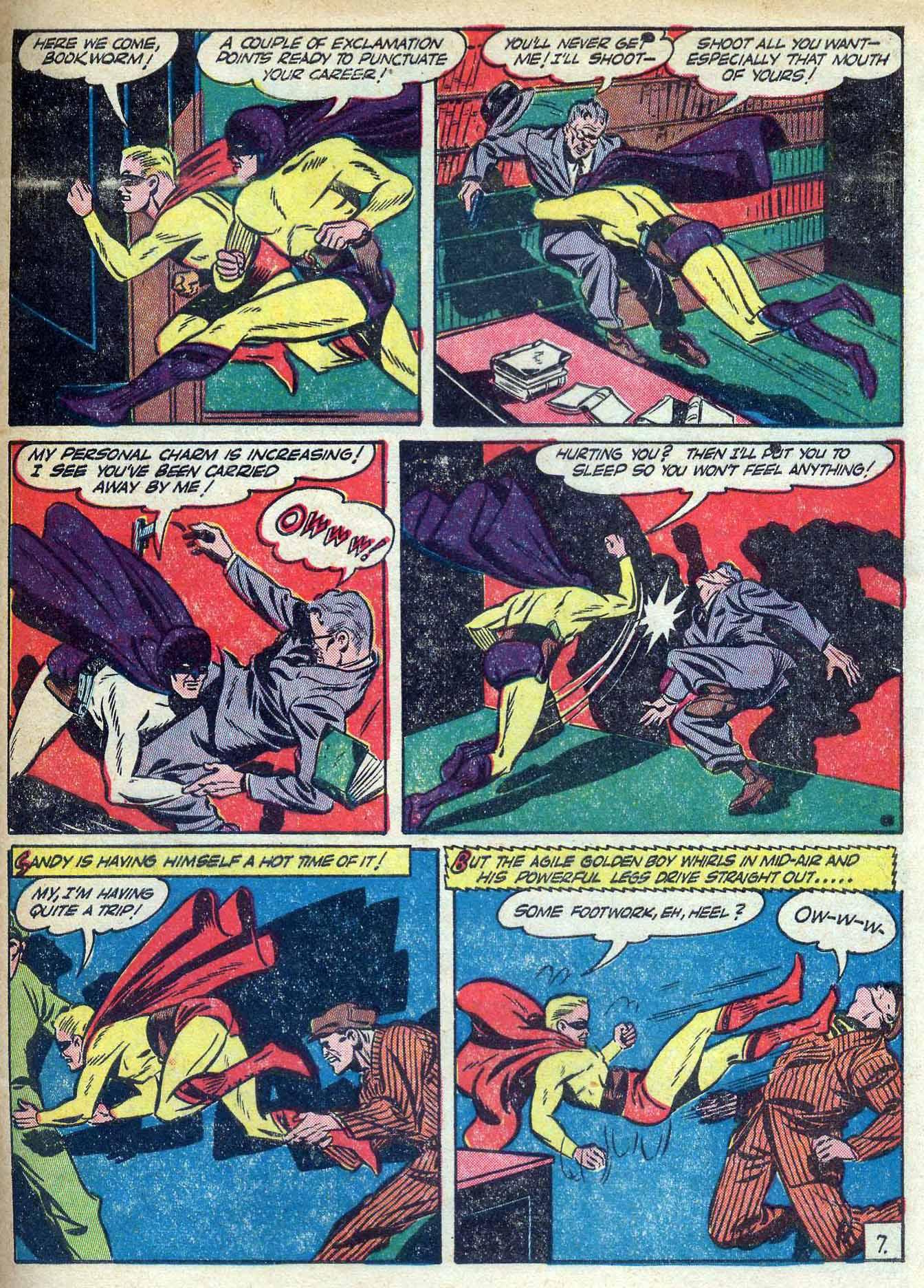 Read online Adventure Comics (1938) comic -  Issue #70 - 65