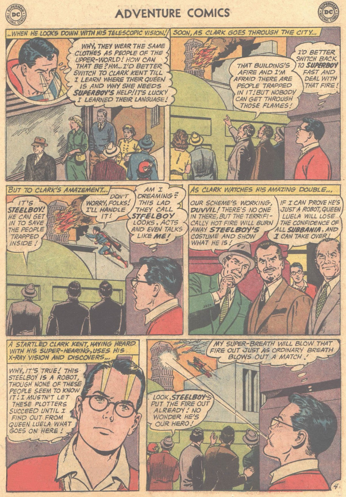 Read online Adventure Comics (1938) comic -  Issue #302 - 7