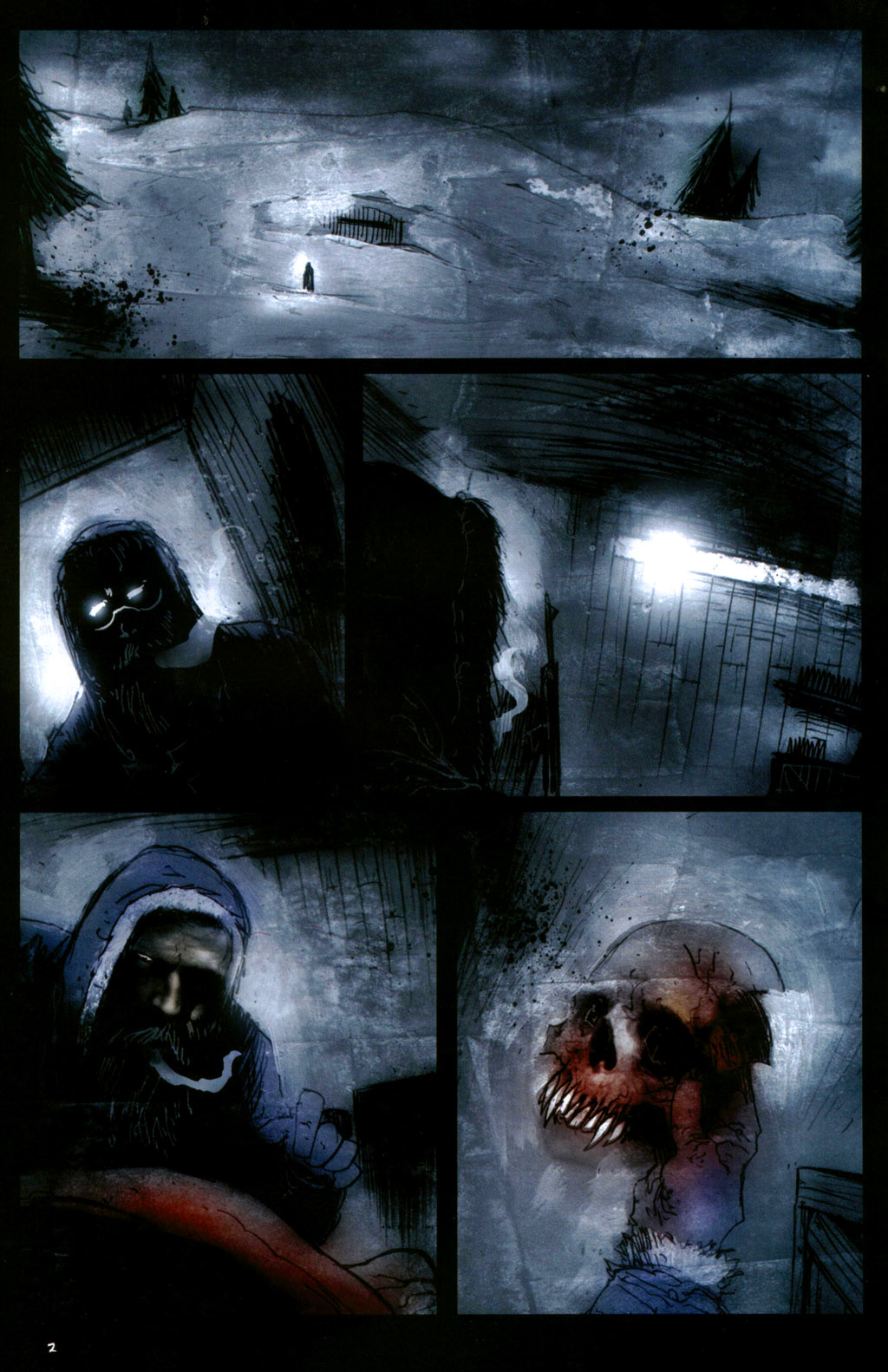 Read online 30 Days of Night: Return to Barrow comic -  Issue #1 - 4