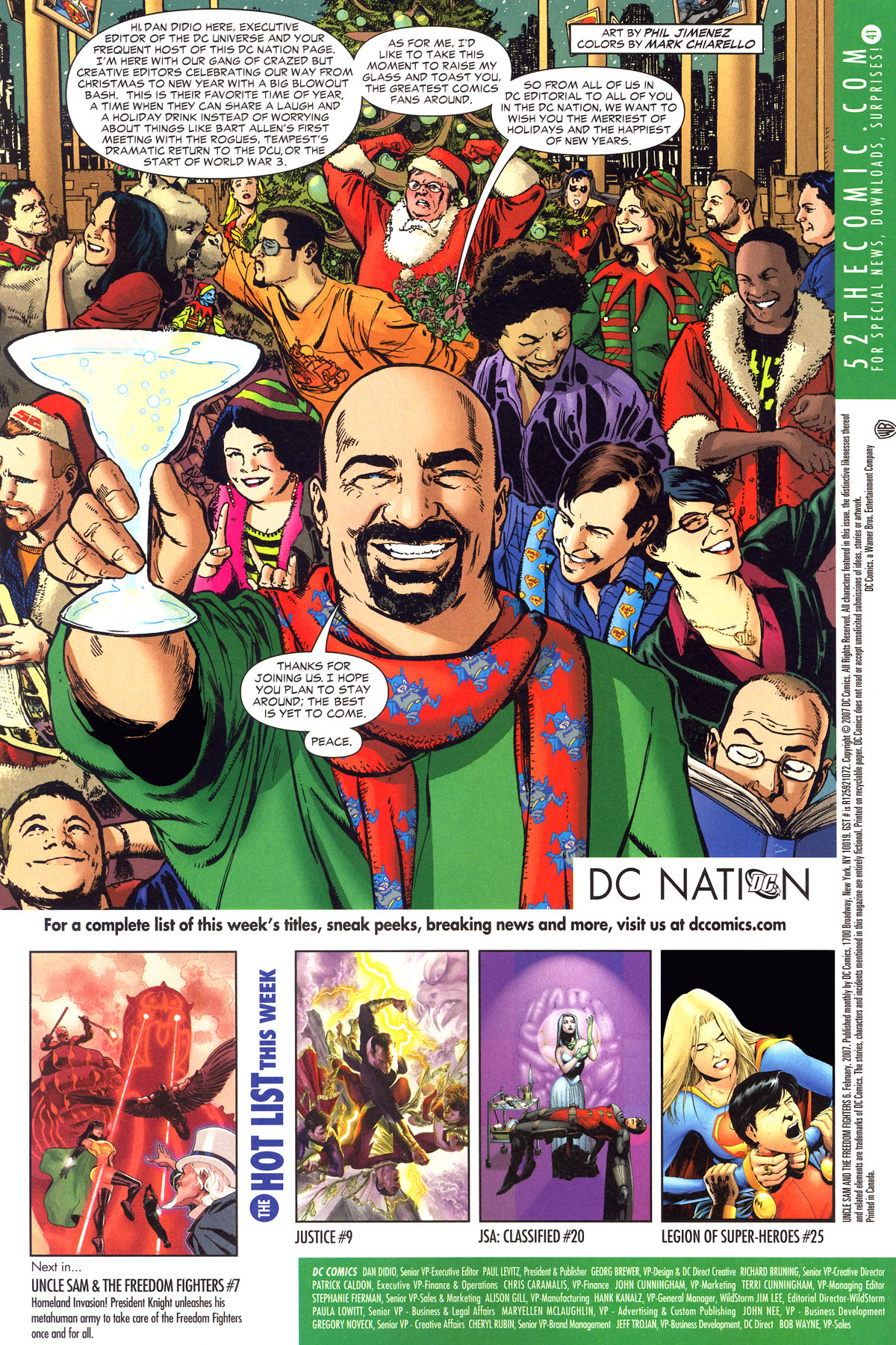 Read online Uncle Sam and the Freedom Fighters (2006) comic -  Issue #6 - 25