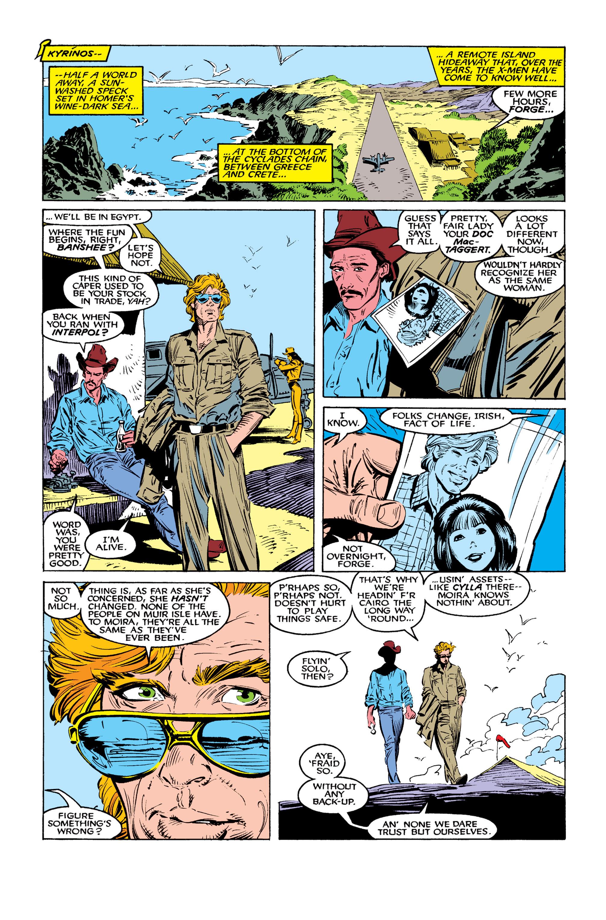 Read online Uncanny X-Men (1963) comic -  Issue #260 - 16