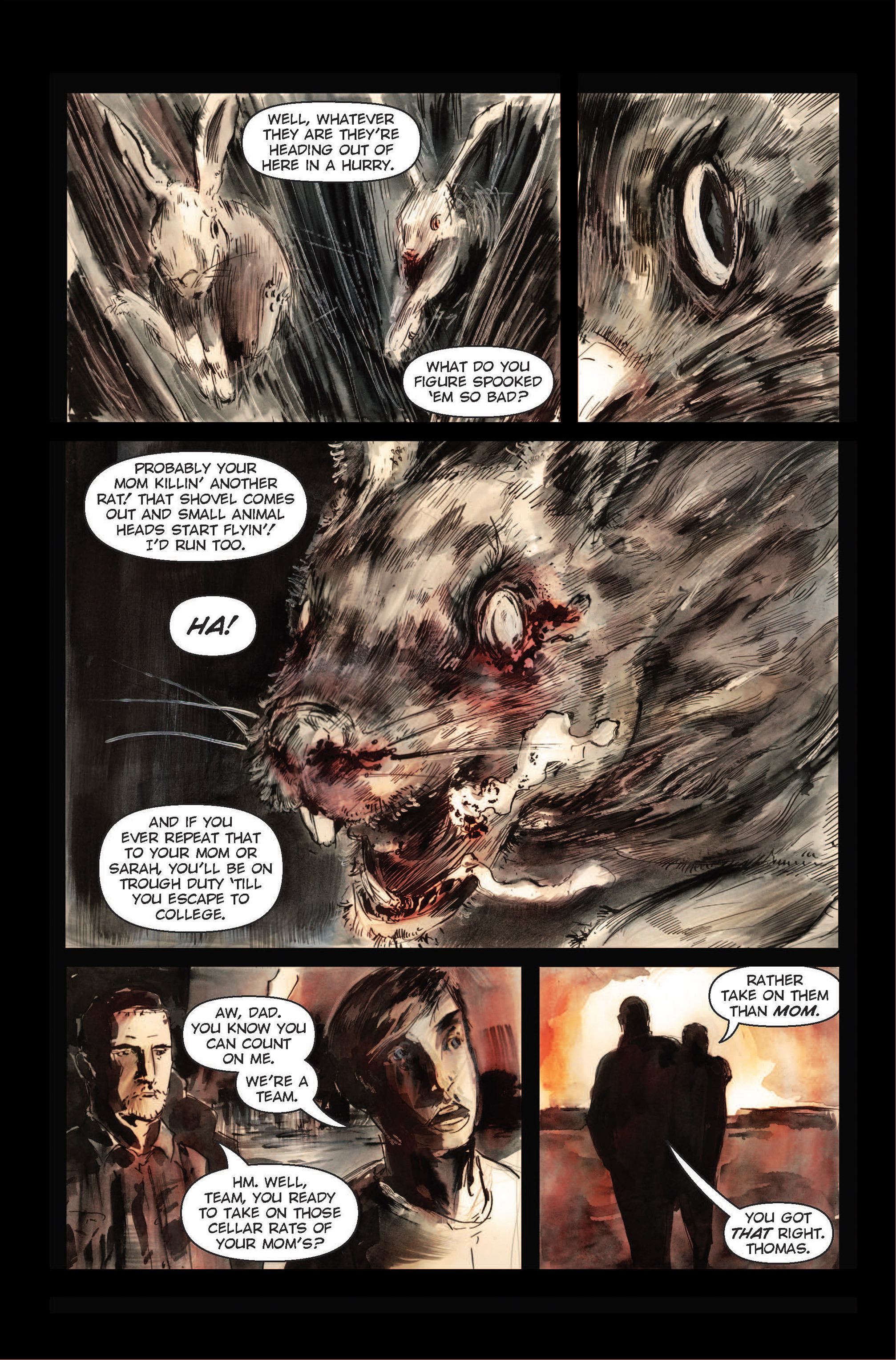Read online The Final Plague comic -  Issue #1 - 16